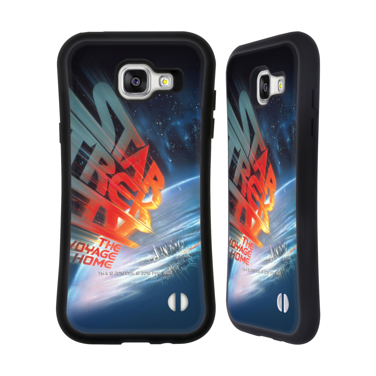 HEAD CASE silikon/plast odolný obal na mobil Samsung Galaxy A5 2016 (A510F) Star Trek Filmové plakáty Cesta domů