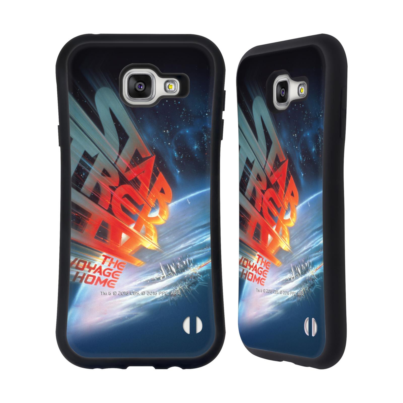 HEAD CASE silikon/plast odolný obal na mobil Samsung Galaxy A7 2016 (A710F) Star Trek Filmové plakáty Cesta domů