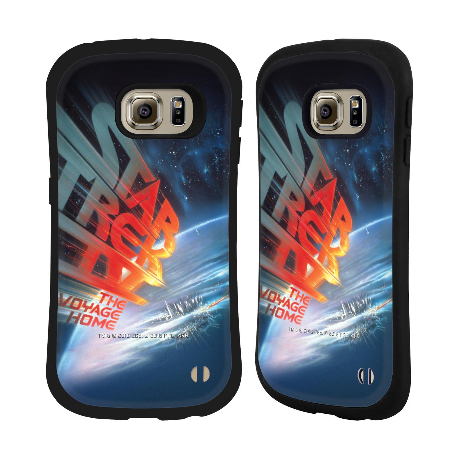 HEAD CASE silikon/plast odolný obal na mobil Samsung Galaxy S6 EDGE (G925) Star Trek Filmové plakáty Cesta domů