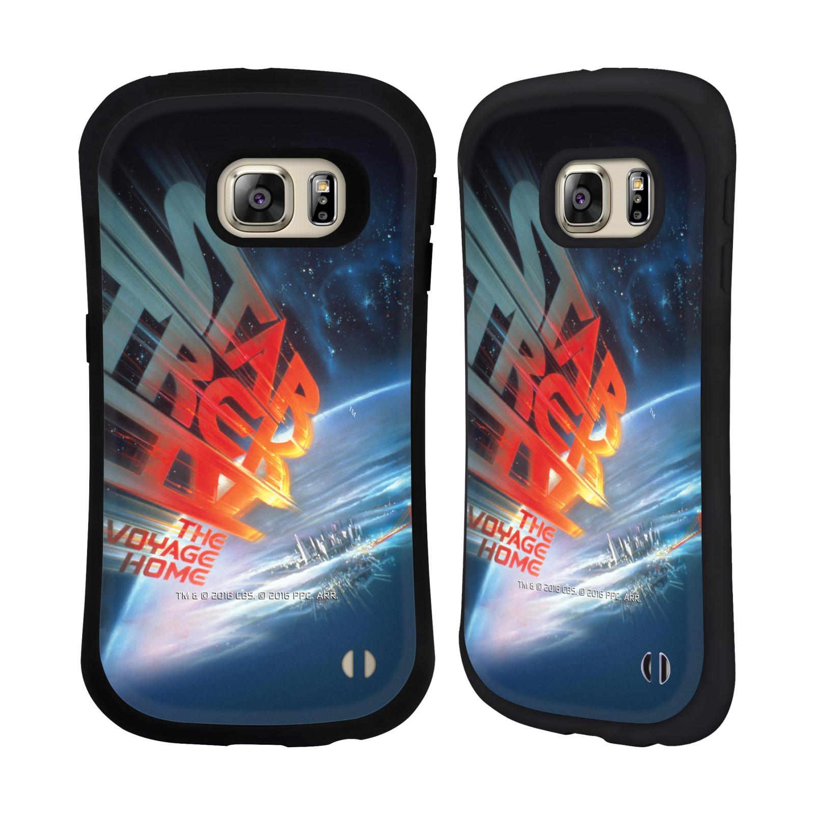 HEAD CASE silikon/plast odolný obal na mobil Samsung Galaxy S6 EDGE+ (PLUS) G928F Star Trek Filmové plakáty Cesta domů