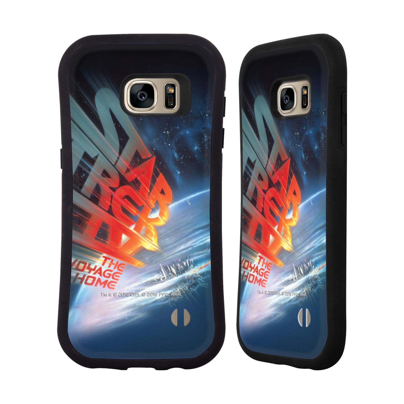 HEAD CASE silikon/plast odolný obal na mobil Samsung Galaxy S7 EDGE (G935F) Star Trek Filmové plakáty Cesta domů