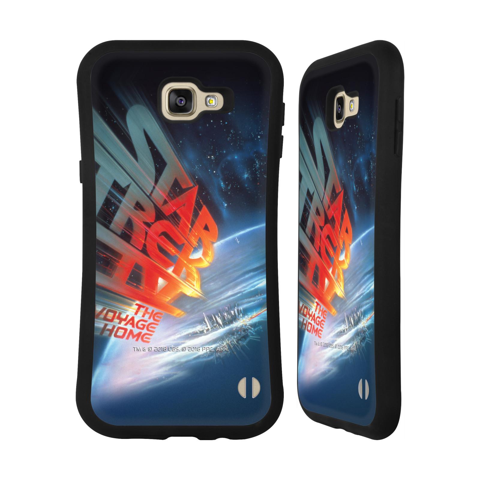 HEAD CASE silikon/plast odolný obal na mobil Samsung Galaxy A9 2016 Star Trek Filmové plakáty Cesta domů