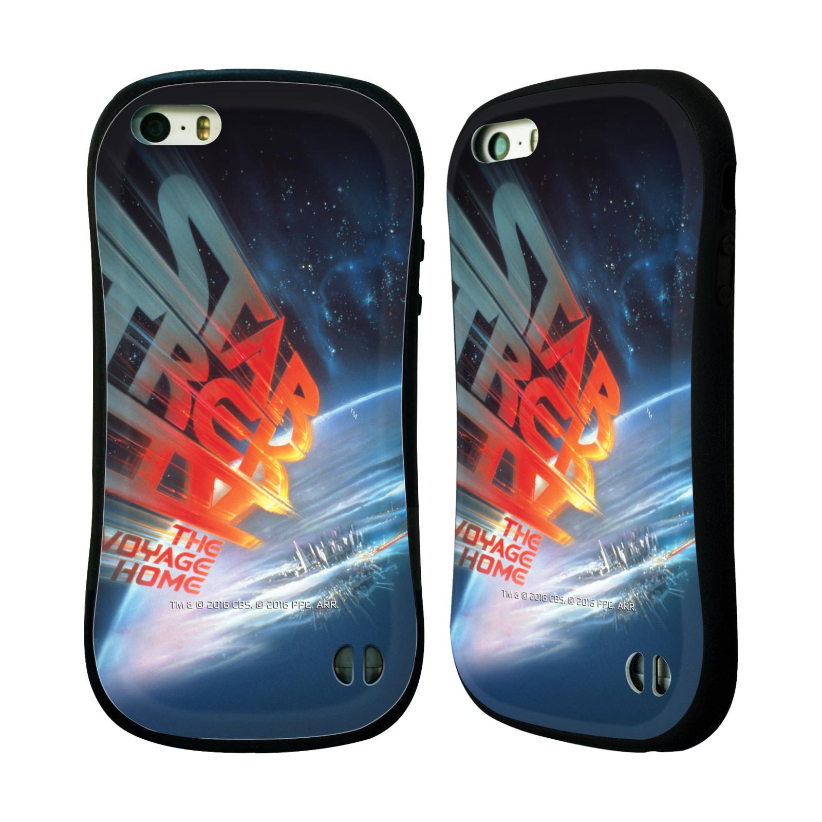 HEAD CASE silikon/plast odolný obal na mobil Apple Iphone 5 / 5S Star Trek Filmové plakáty Cesta domů