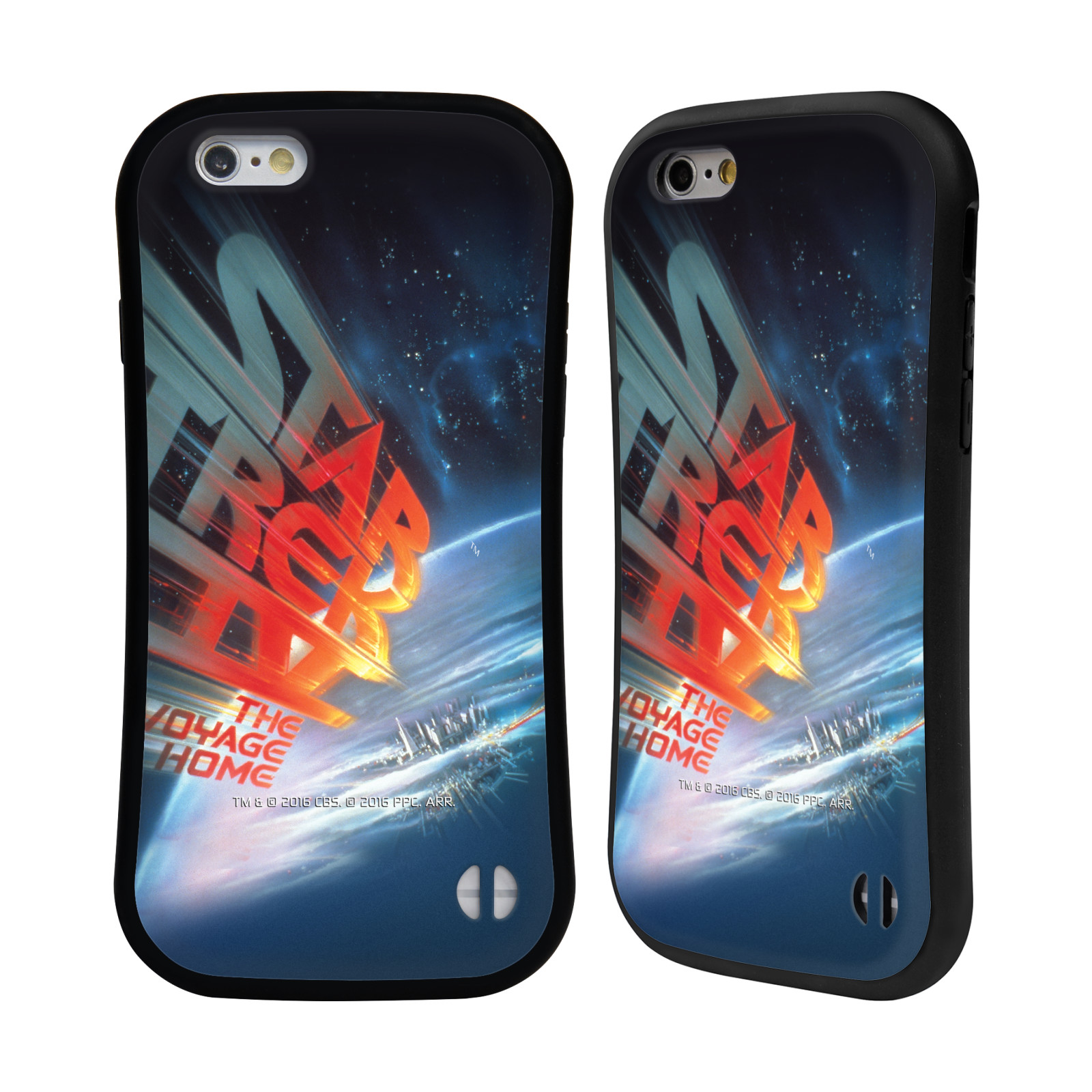HEAD CASE silikon/plast odolný obal na mobil Apple Iphone 6/6S Star Trek Filmové plakáty Cesta domů