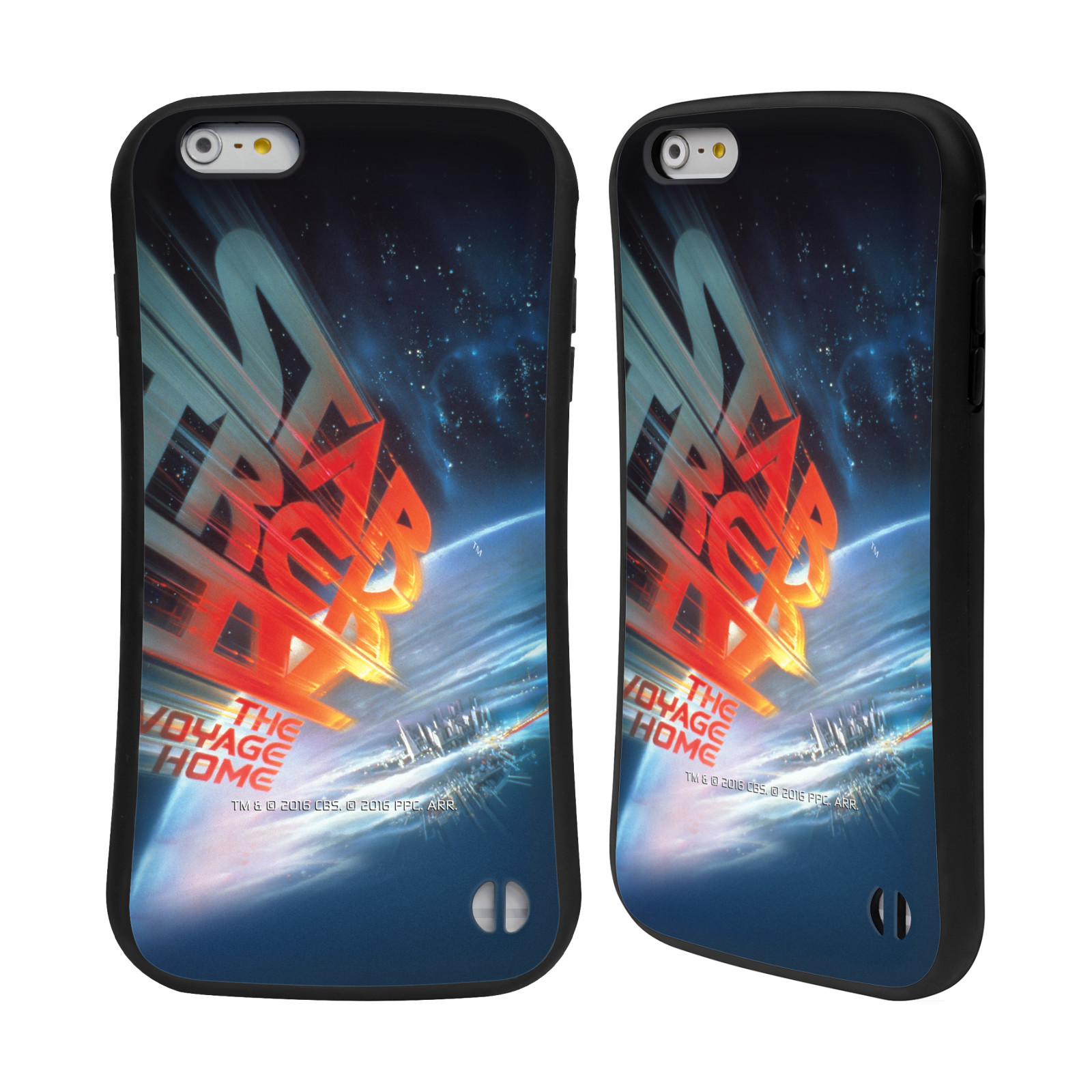 HEAD CASE silikon/plast odolný obal na mobil Apple Iphone 6 PLUS / 6S PLUS Star Trek Filmové plakáty Cesta domů