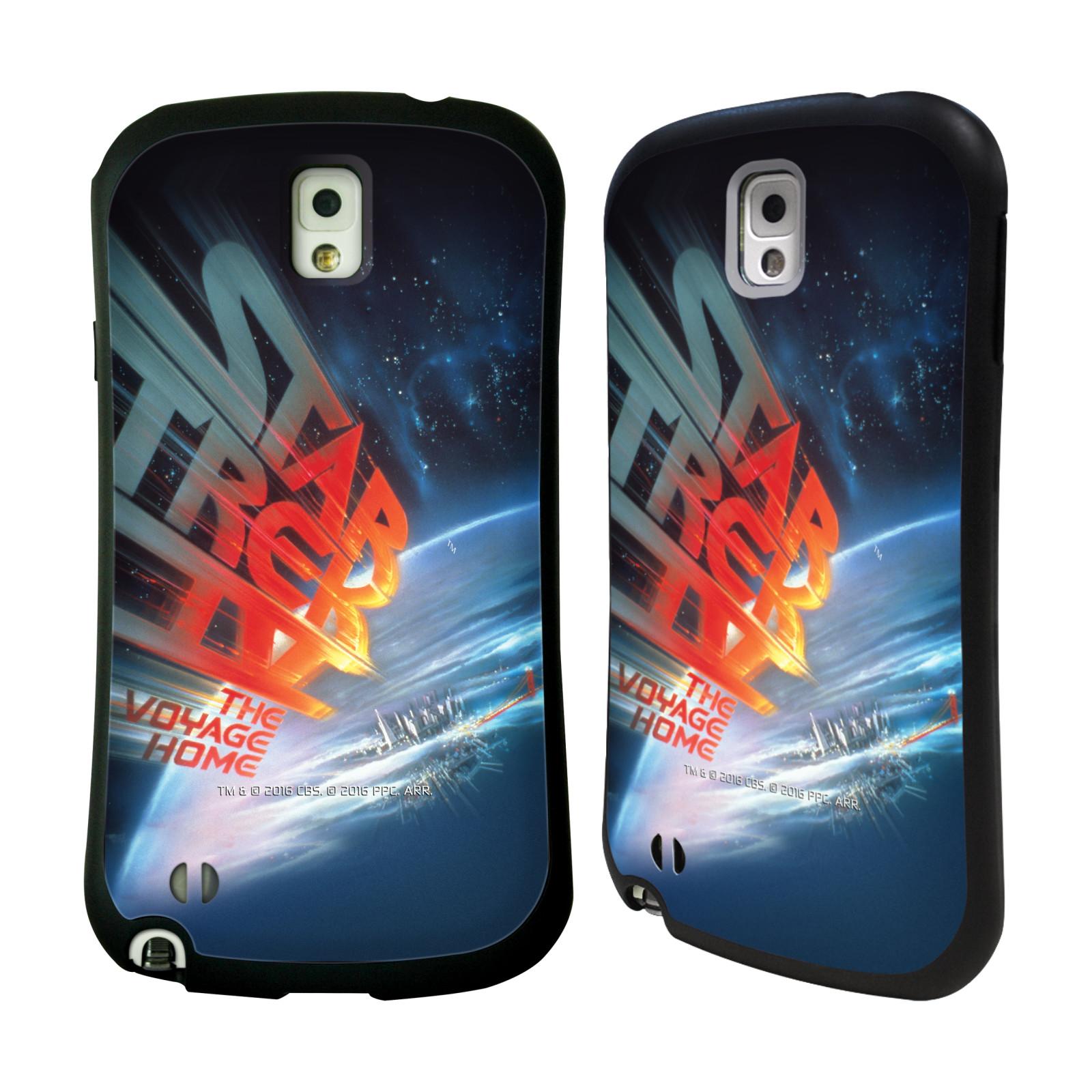 HEAD CASE silikon/plast odolný obal na mobil Samsung Galaxy NOTE 3 (N9005) Star Trek Filmové plakáty Cesta domů