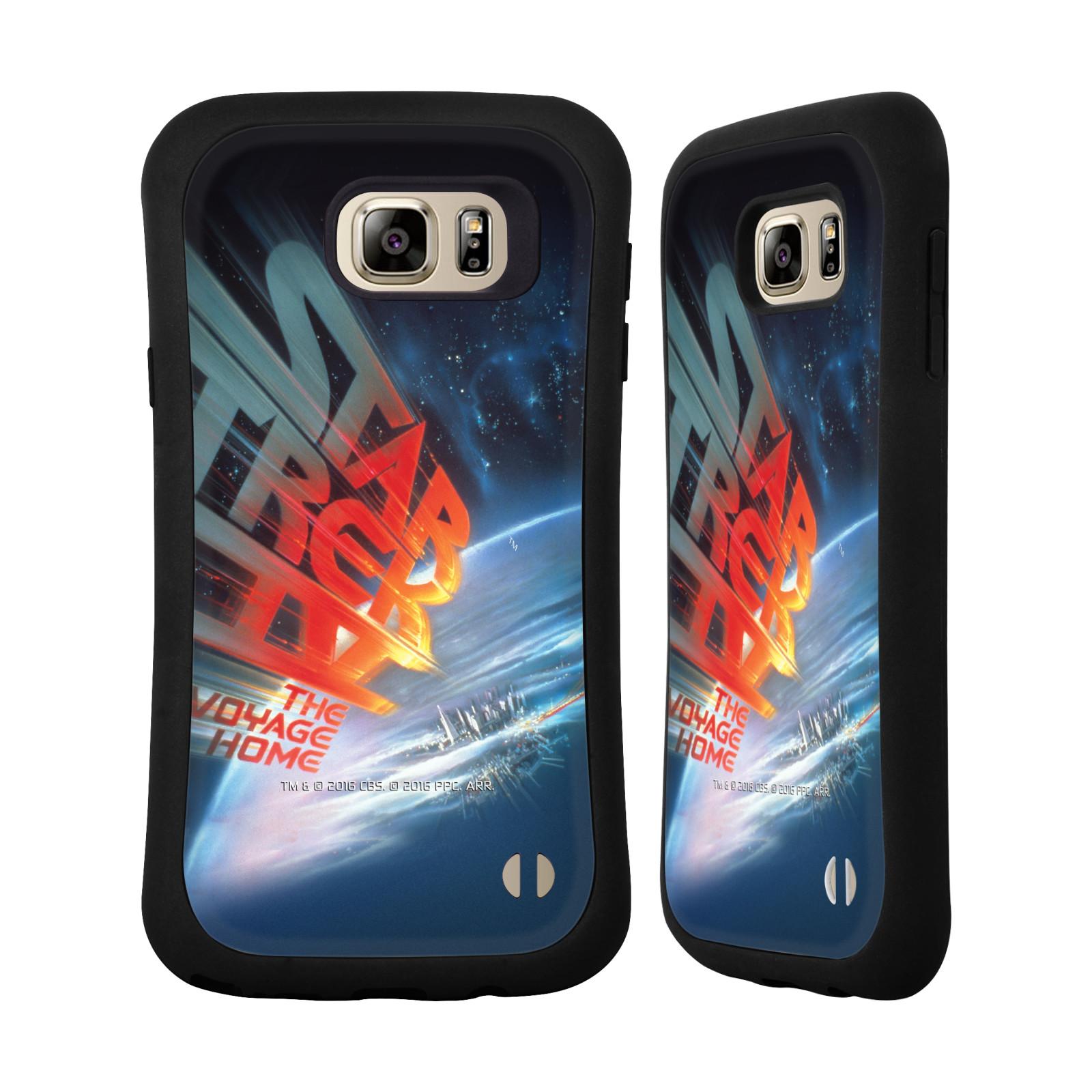 HEAD CASE silikon/plast odolný obal na mobil Samsung Galaxy NOTE 5 Star Trek Filmové plakáty Cesta domů