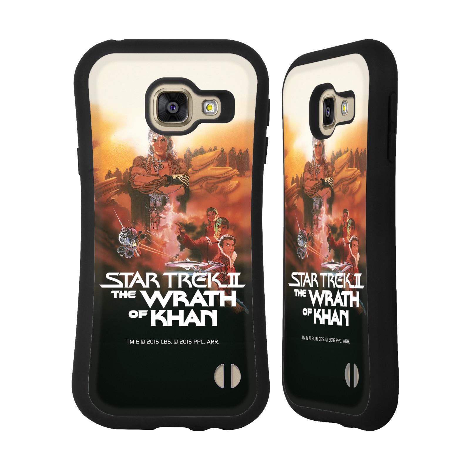 HEAD CASE silikon/plast odolný obal na mobil Samsung Galaxy A3 2016 (A310F) Star Trek Filmové plakáty Wrath of Khan