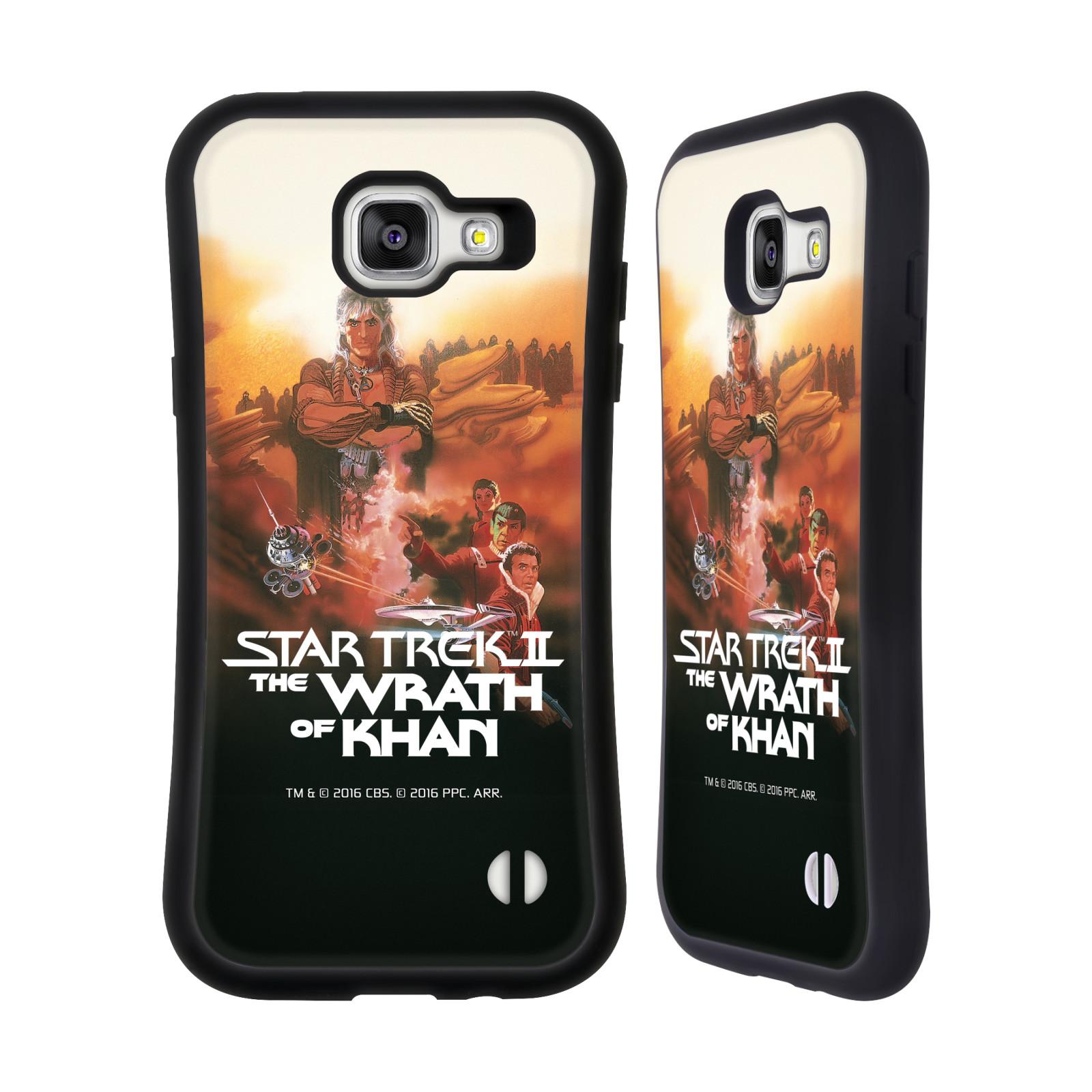 HEAD CASE silikon/plast odolný obal na mobil Samsung Galaxy A5 2016 (A510F) Star Trek Filmové plakáty Wrath of Khan