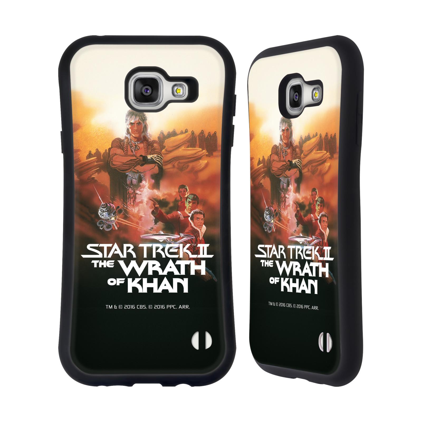 HEAD CASE silikon/plast odolný obal na mobil Samsung Galaxy A7 2016 (A710F) Star Trek Filmové plakáty Wrath of Khan