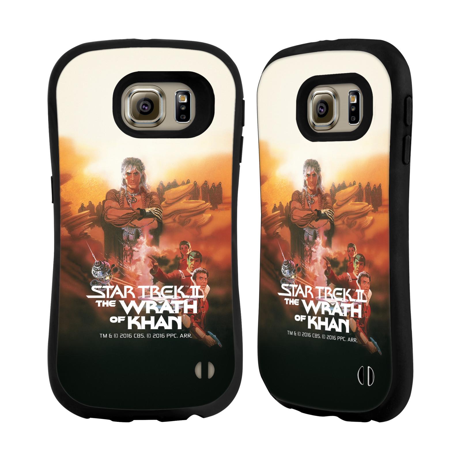 HEAD CASE silikon/plast odolný obal na mobil Samsung Galaxy S6 (G920F) Star Trek Filmové plakáty Wrath of Khan