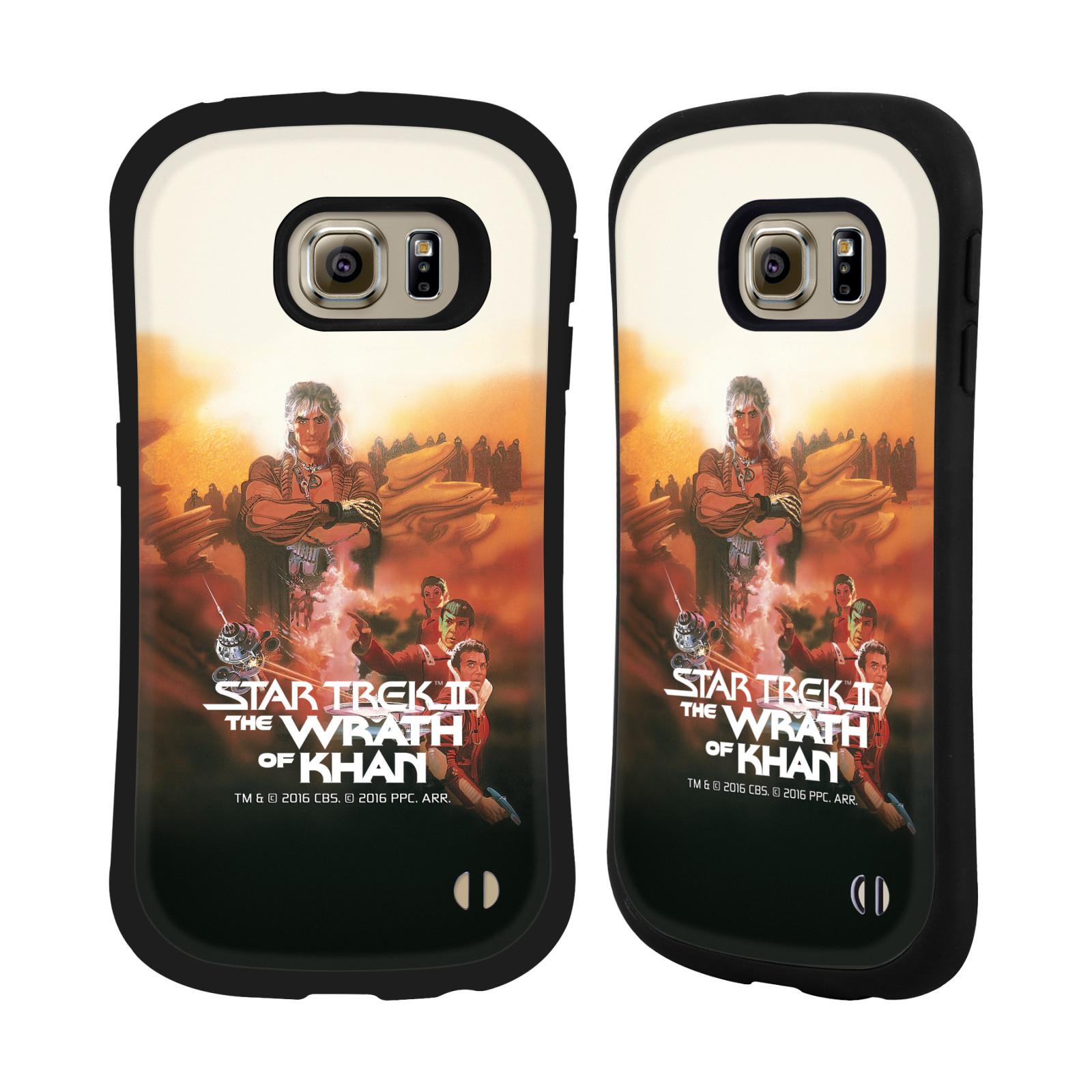 HEAD CASE silikon/plast odolný obal na mobil Samsung Galaxy S6 EDGE (G925) Star Trek Filmové plakáty Wrath of Khan