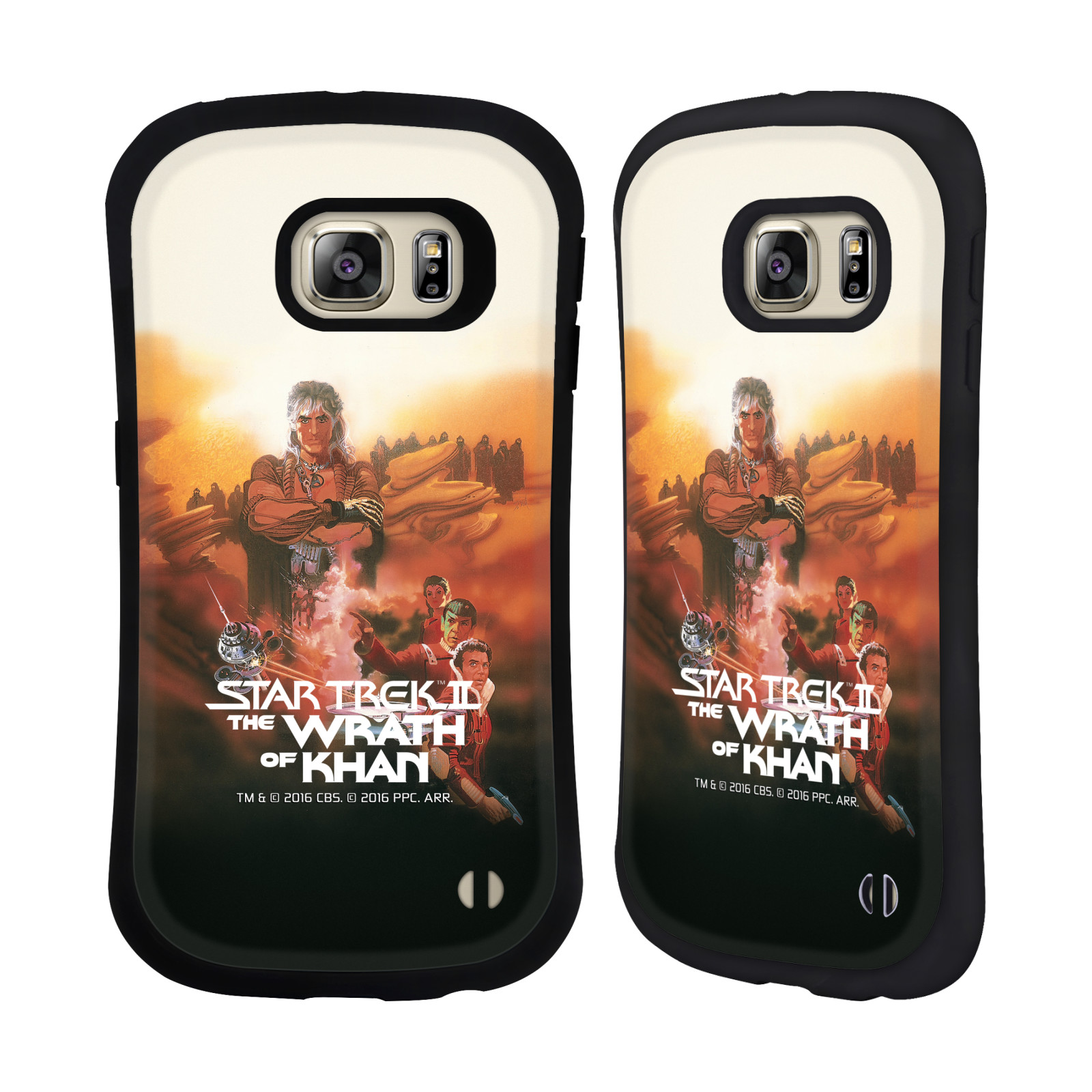 HEAD CASE silikon/plast odolný obal na mobil Samsung Galaxy S6 EDGE+ (PLUS) G928F Star Trek Filmové plakáty Wrath of Khan