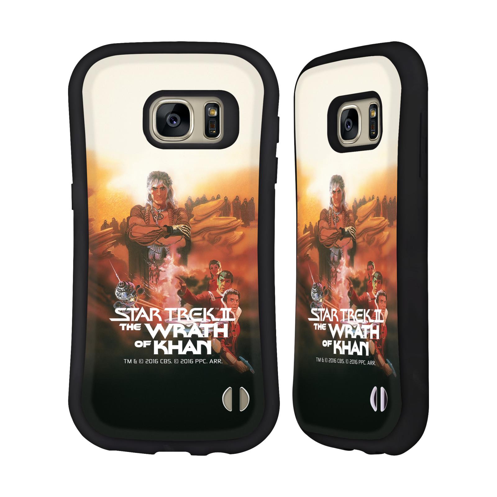 HEAD CASE silikon/plast odolný obal na mobil Samsung Galaxy S7 (G930F) Star Trek Filmové plakáty Wrath of Khan