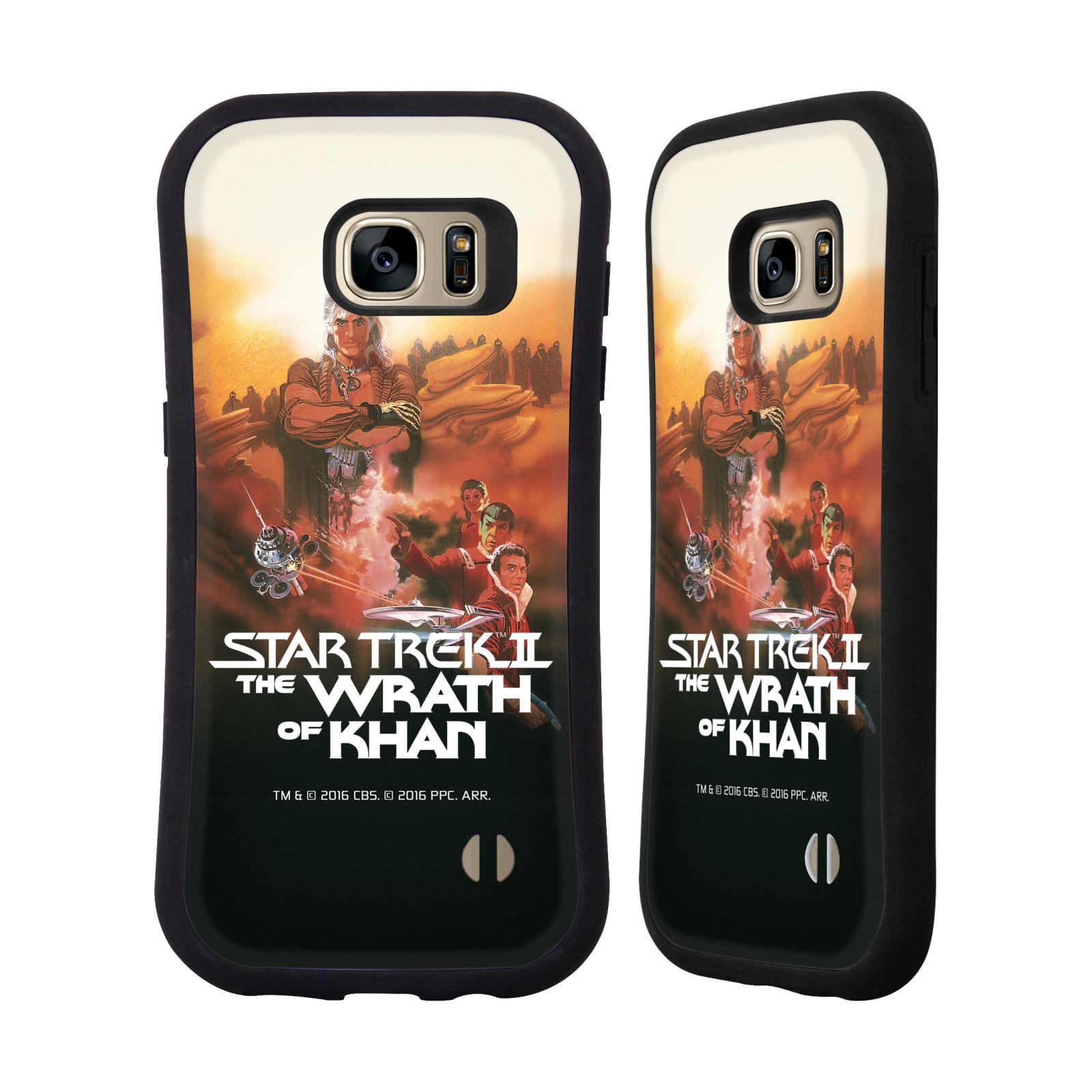 HEAD CASE silikon/plast odolný obal na mobil Samsung Galaxy S7 EDGE (G935F) Star Trek Filmové plakáty Wrath of Khan