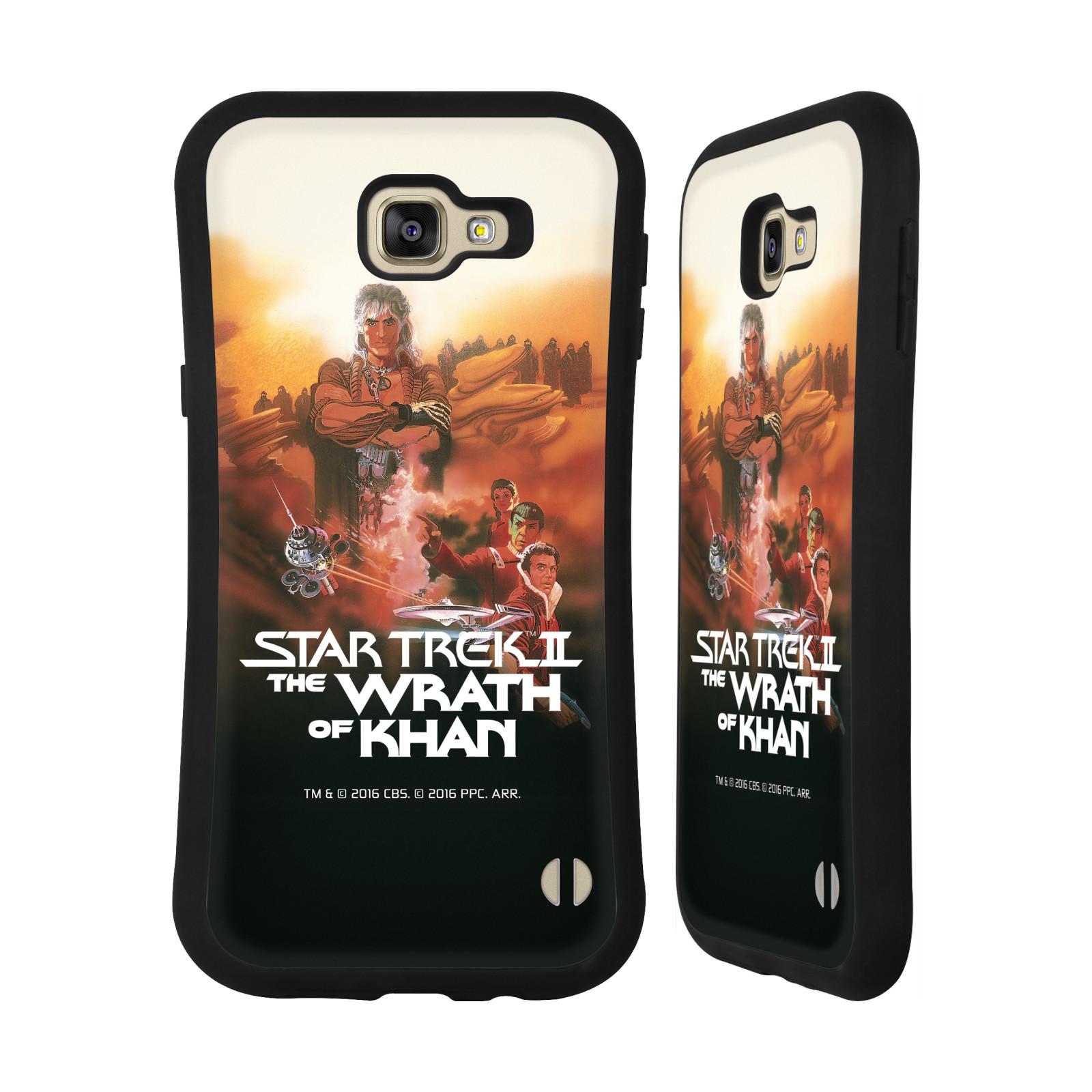 HEAD CASE silikon/plast odolný obal na mobil Samsung Galaxy A9 2016 Star Trek Filmové plakáty Wrath of Khan