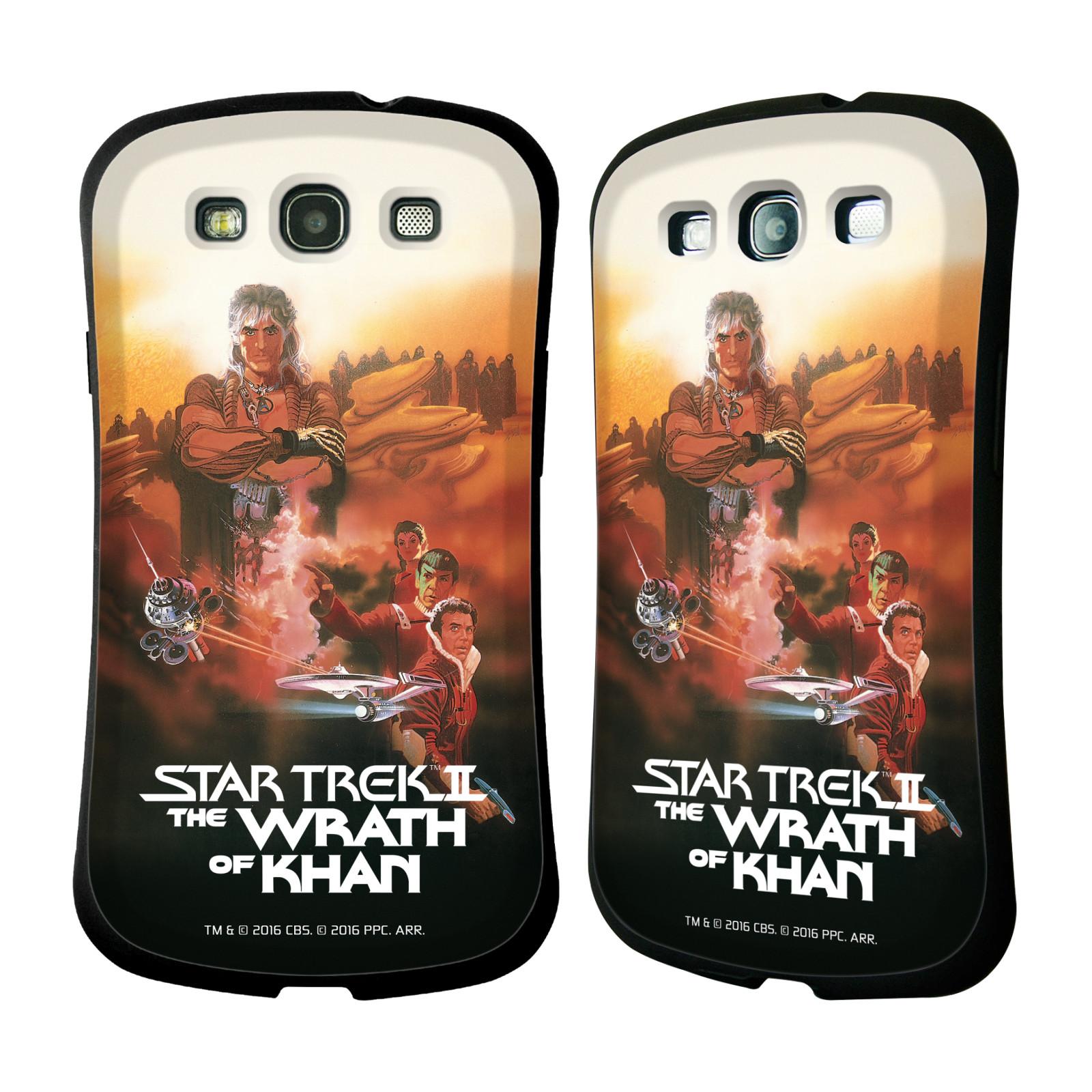 HEAD CASE silikon/plast odolný obal na mobil Samsung Galaxy S3 i9300 / S3 NEO Star Trek Filmové plakáty Wrath of Khan