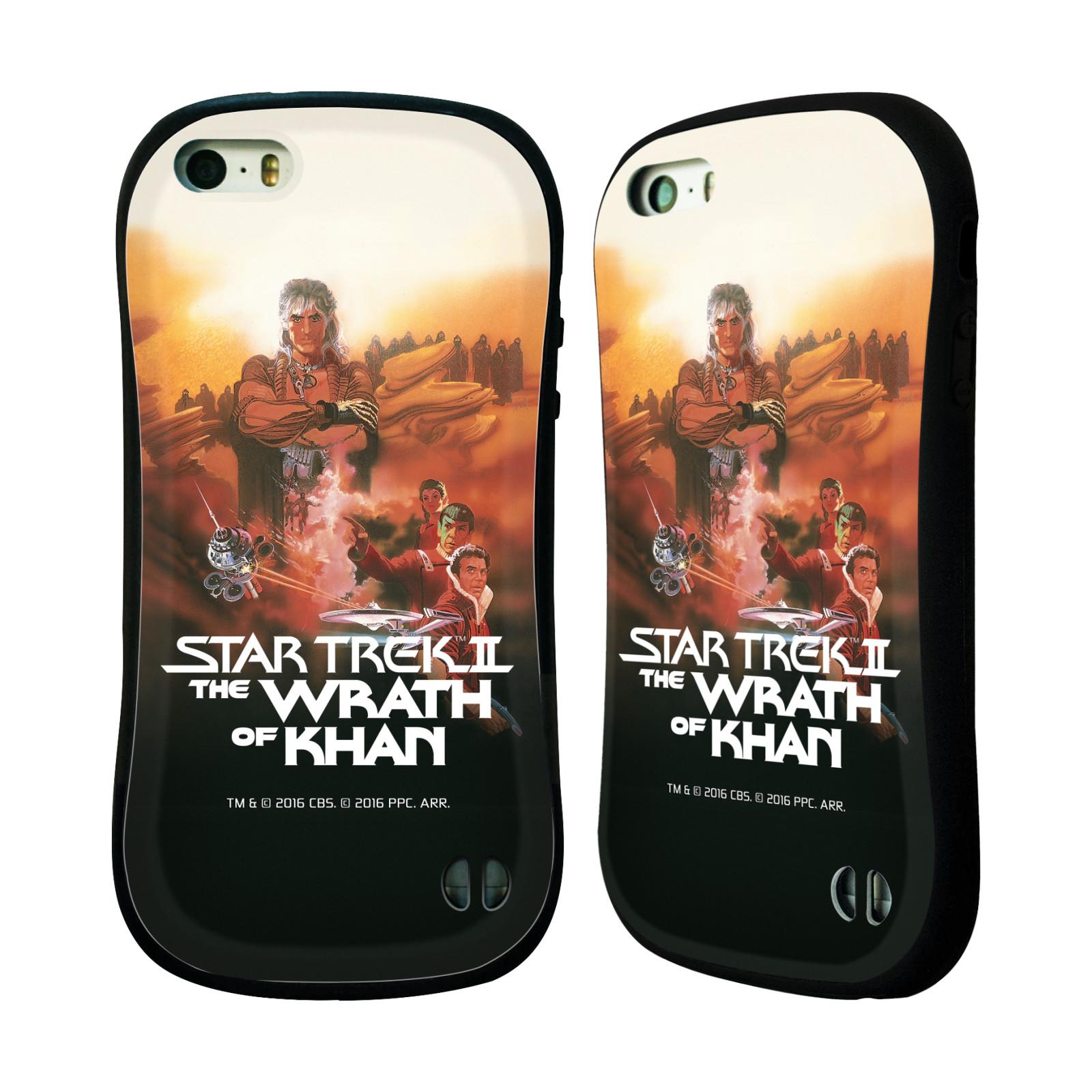 HEAD CASE silikon/plast odolný obal na mobil Apple Iphone 5 / 5S Star Trek Filmové plakáty Wrath of Khan
