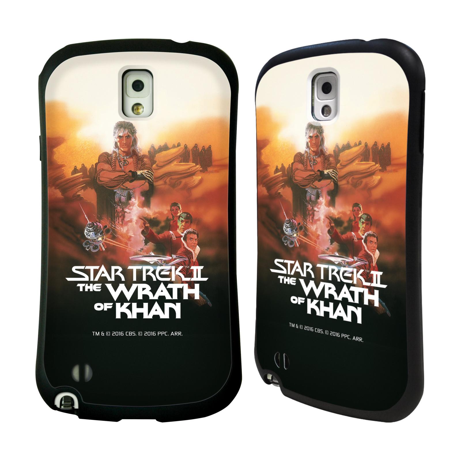 HEAD CASE silikon/plast odolný obal na mobil Samsung Galaxy NOTE 3 (N9005) Star Trek Filmové plakáty Wrath of Khan