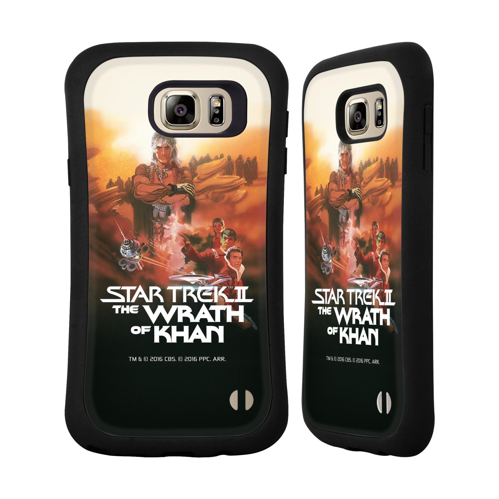 HEAD CASE silikon/plast odolný obal na mobil Samsung Galaxy NOTE 5 Star Trek Filmové plakáty Wrath of Khan