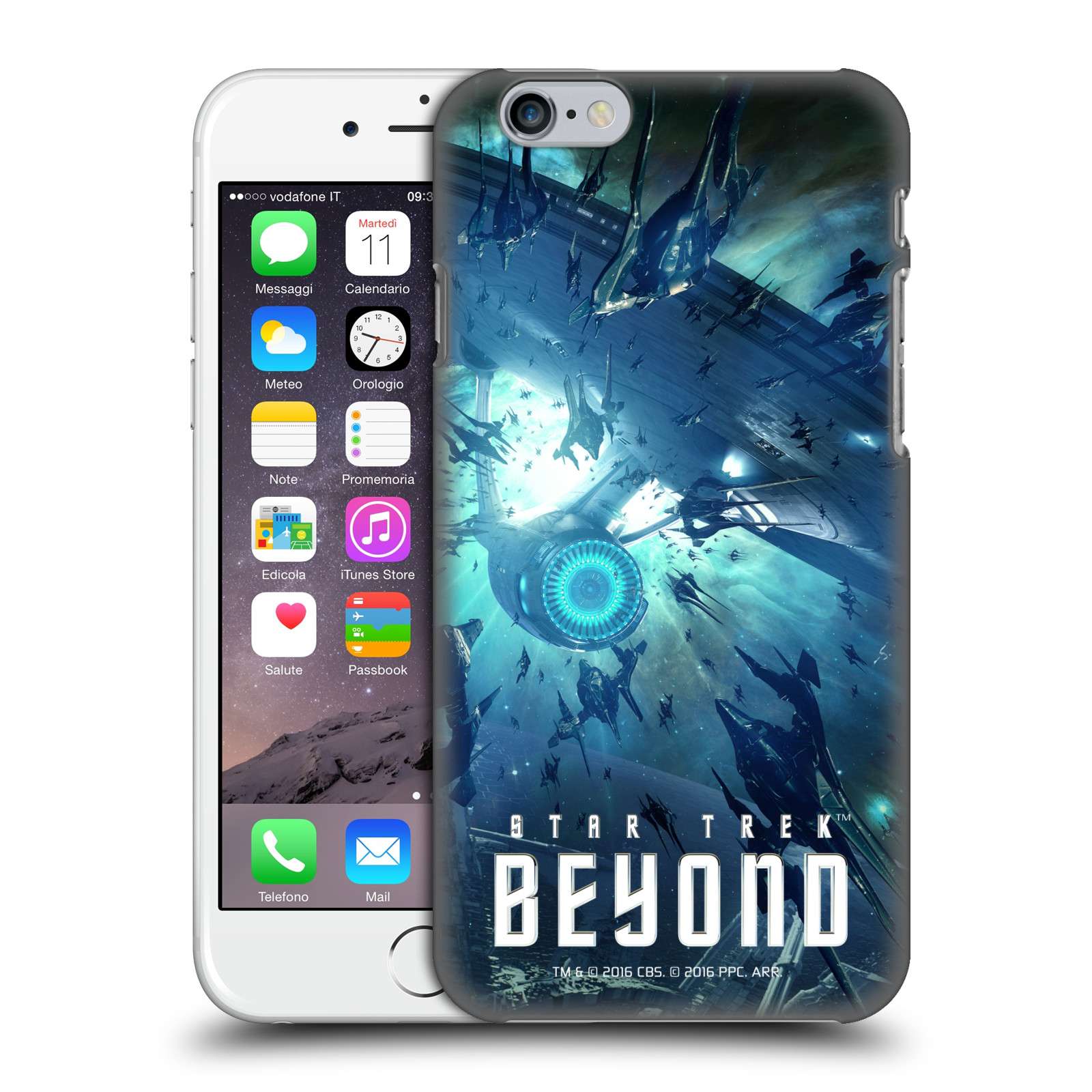Star Trek Posters Beyond XIII-USS Enterprise NCC-1701 Swarmed