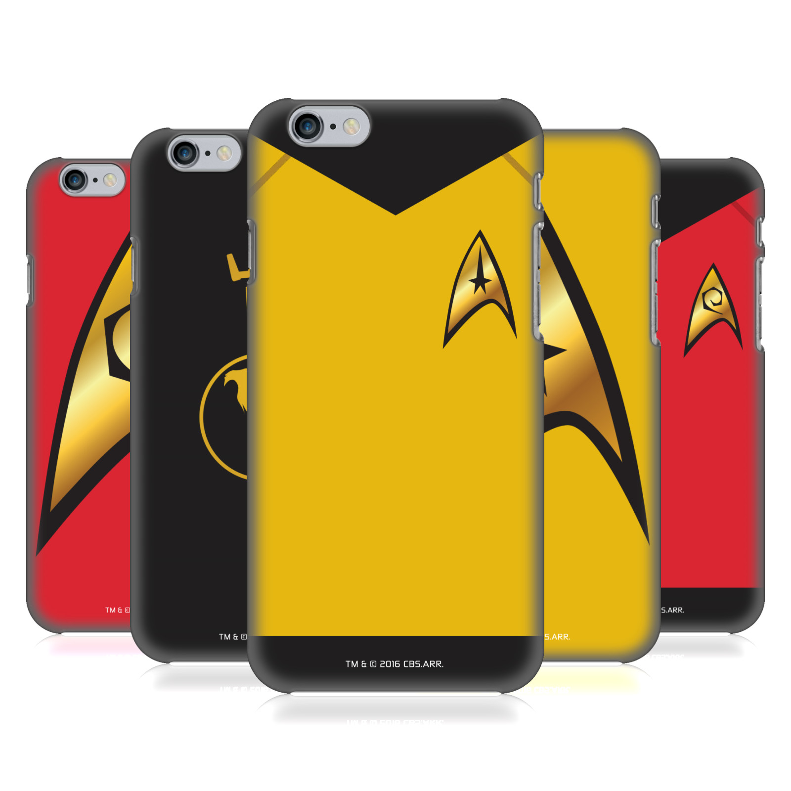 Star Trek Uniforms and Badges TOS
