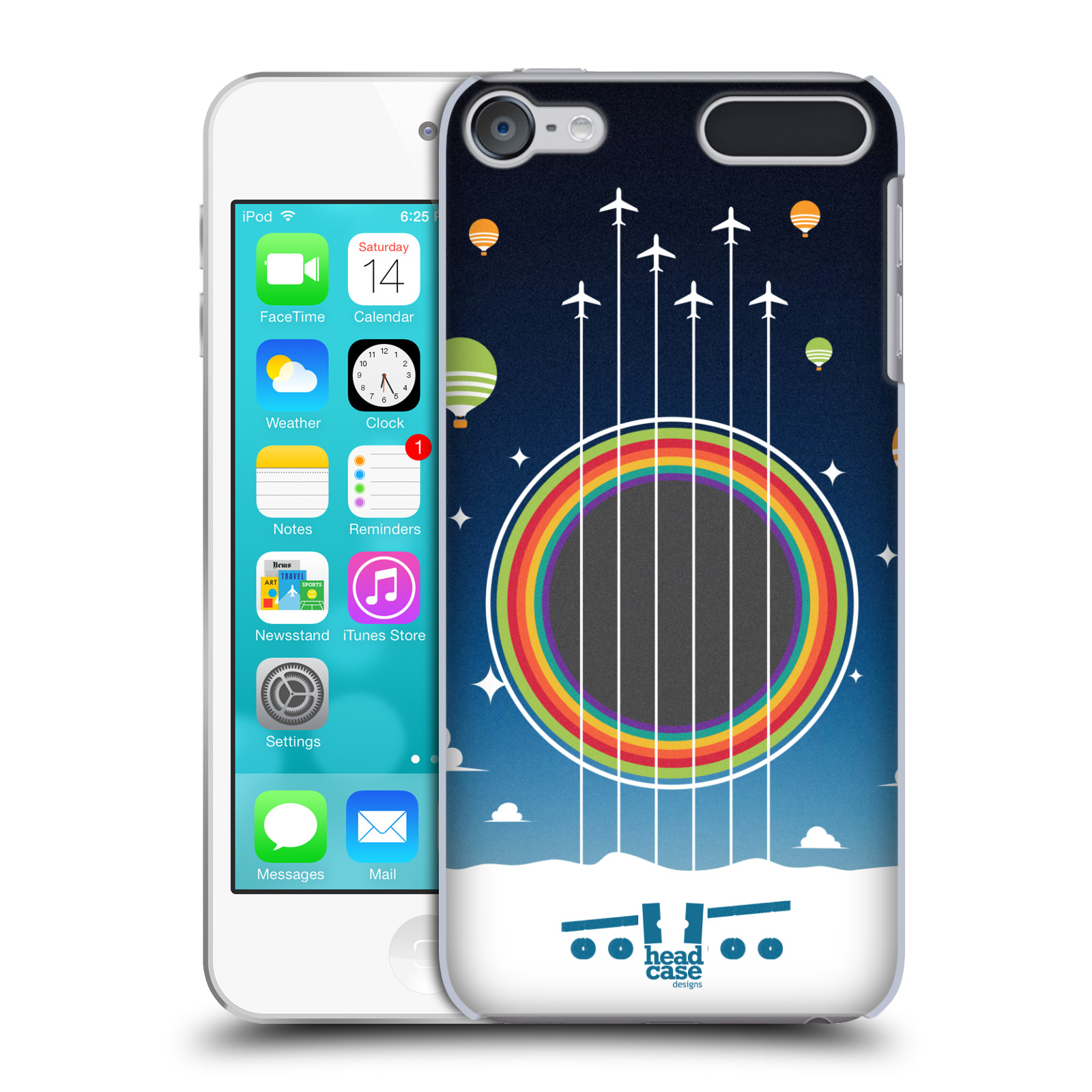 HEAD-CASE-DESIGNS-STRINGS-HARD-BACK-CASE-FOR-APPLE-iPOD-TOUCH-MP3
