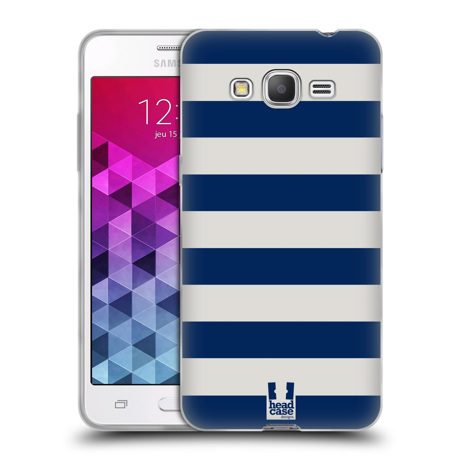 HEAD CASE STRIPES COLLECTION 1 GEL CASE FOR SAMSUNG GALAXY GRAND PRIME 3G DUOS