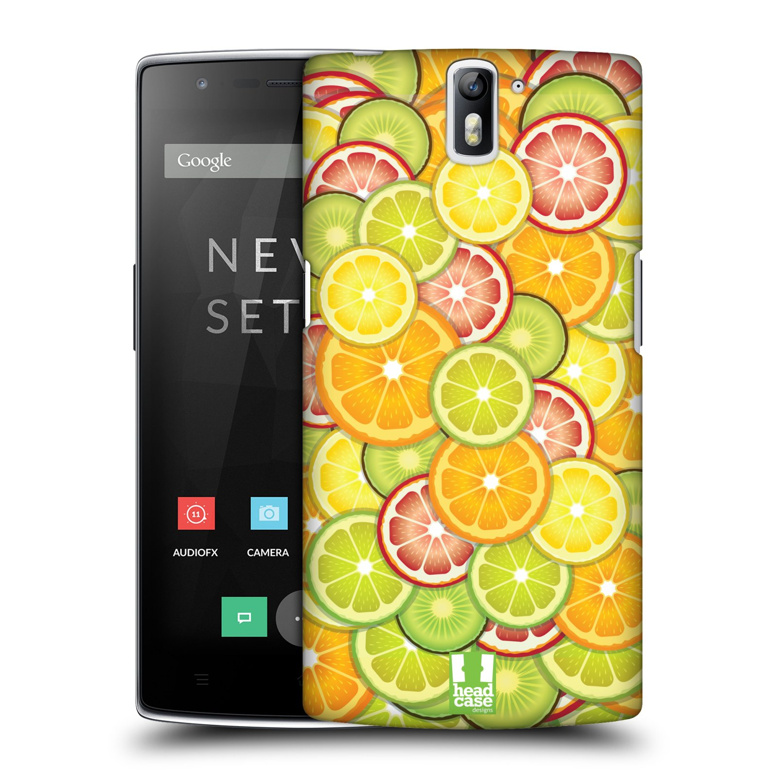 HEAD CASE DESIGNS SUPER FOODS HARD BACK CASE FOR ONEPLUS ONE