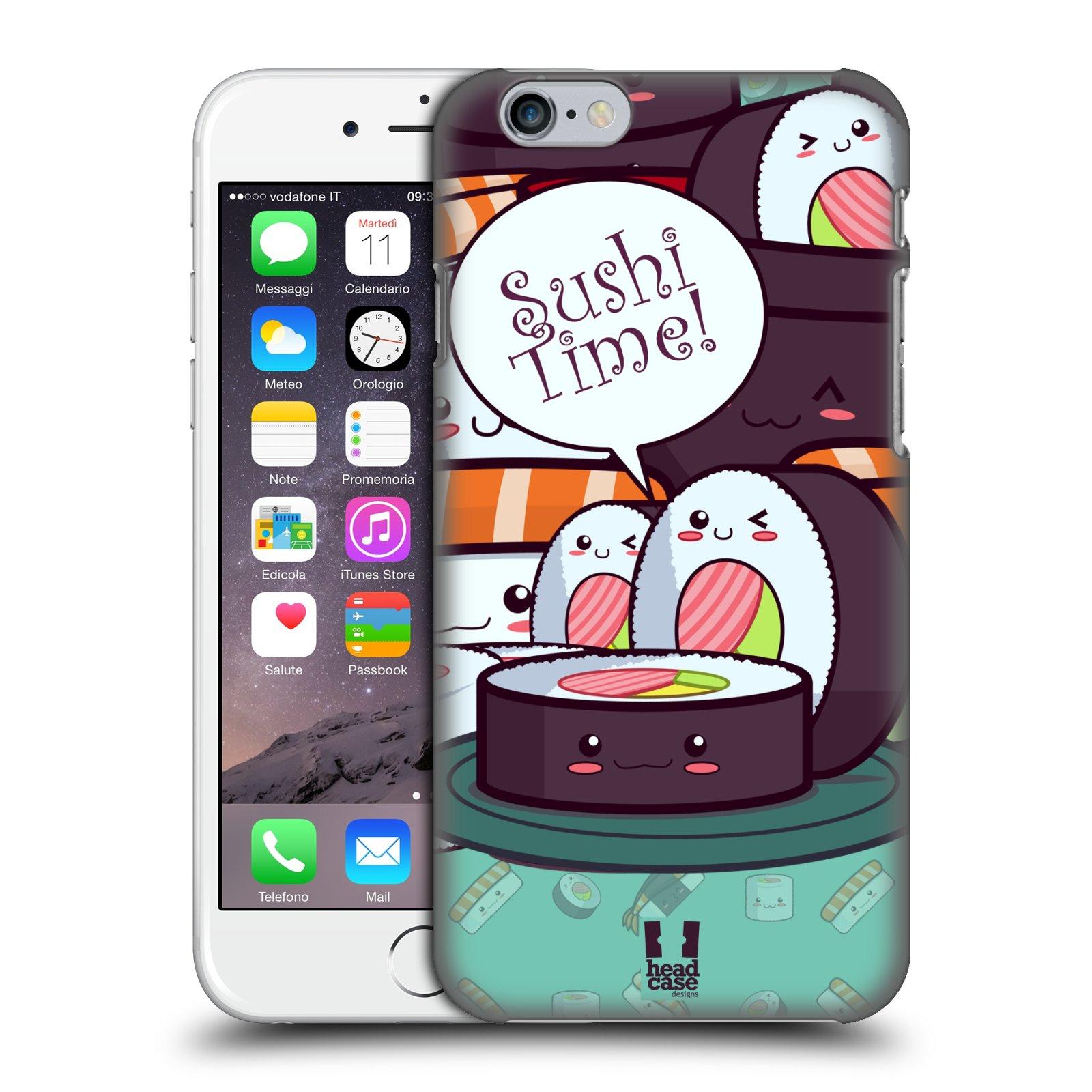 Plastové pouzdro pro mobil Apple Iphone 6 6S vzor Čas na Sushi MAKI NORI 4394cad223d
