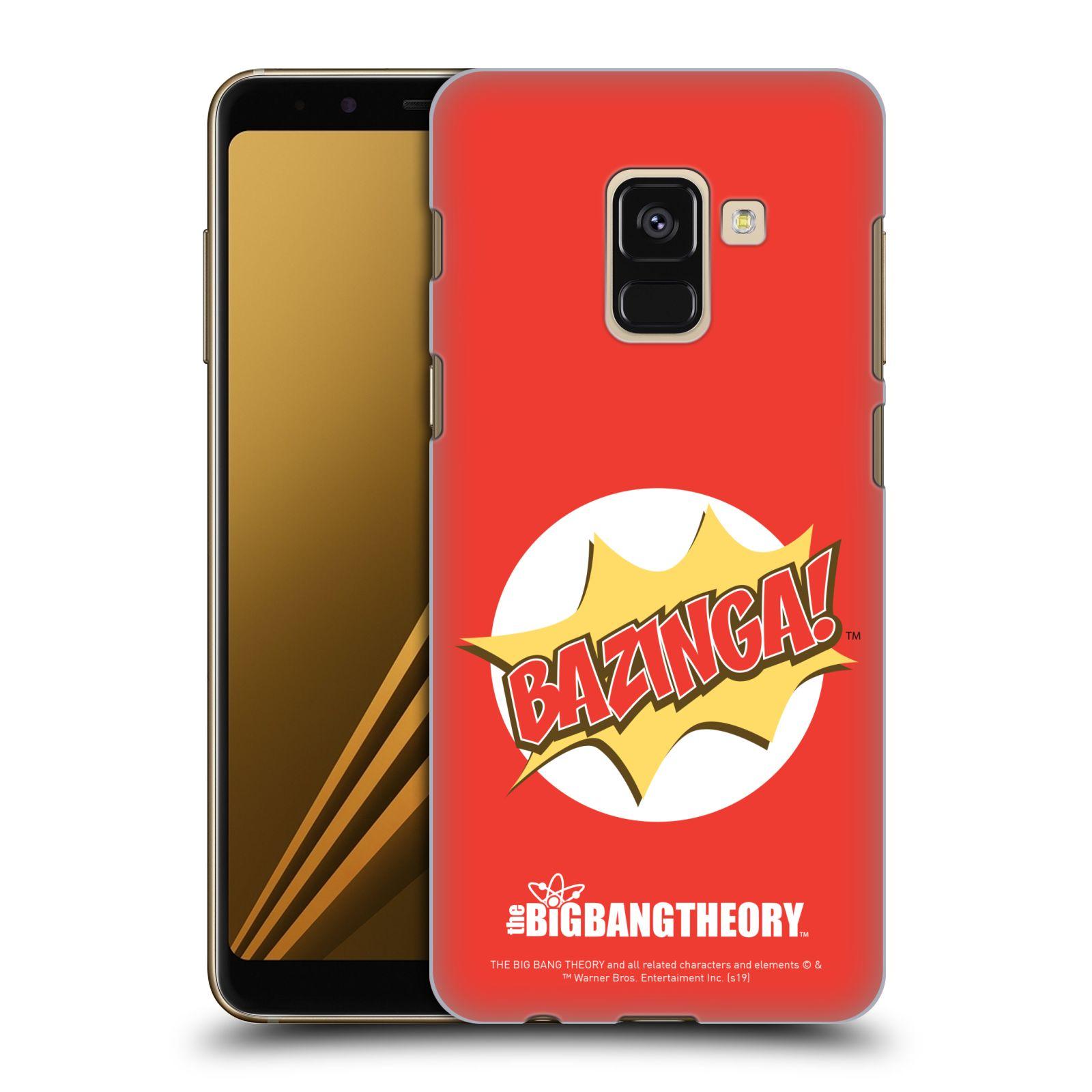 Pouzdro na mobil Samsung Galaxy A8+ 2018, A8 PLUS 2018 - HEAD CASE - Big Bang Theory - Bazinga