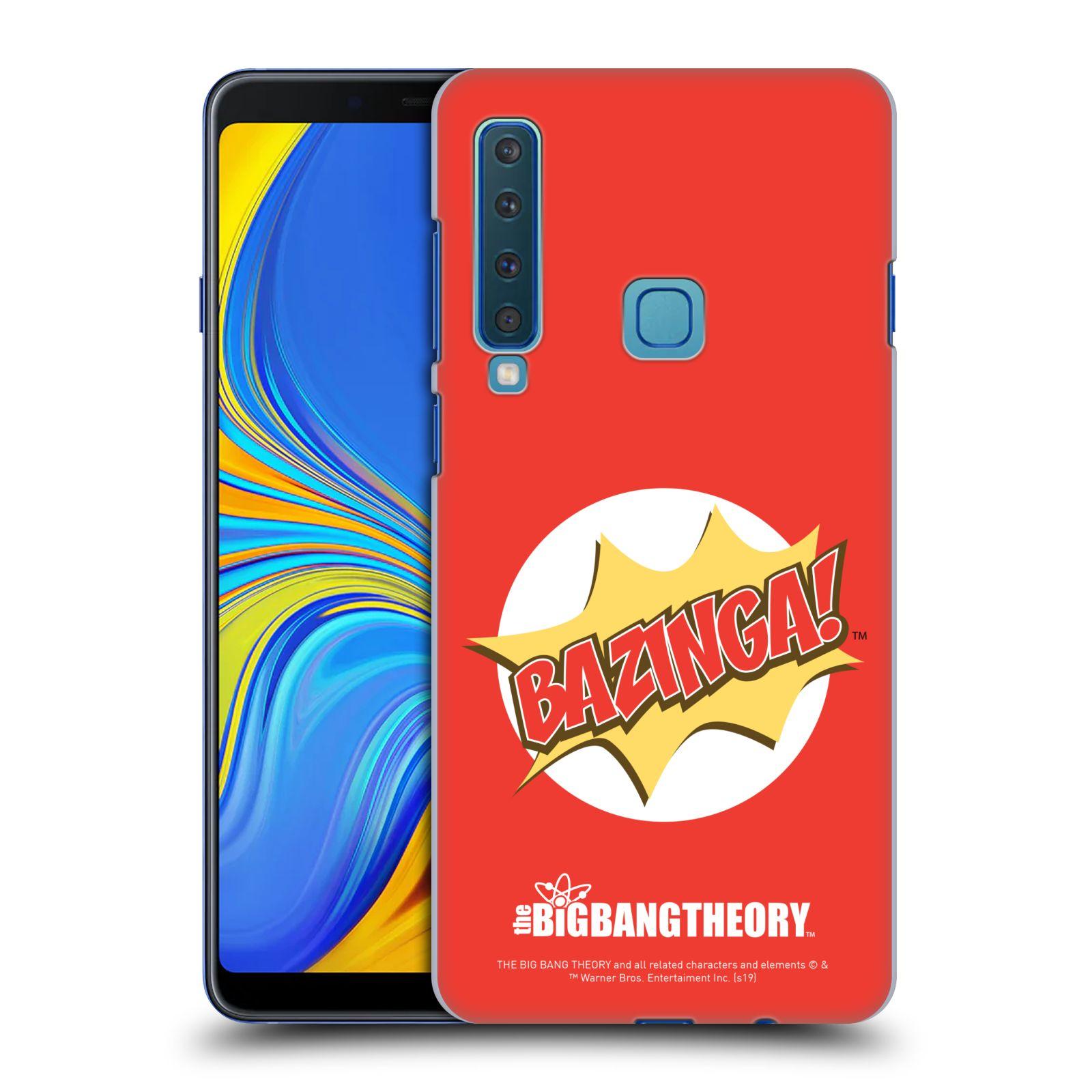 Pouzdro na mobil Samsung Galaxy A9 2018 - HEAD CASE - Big Bang Theory - Bazinga