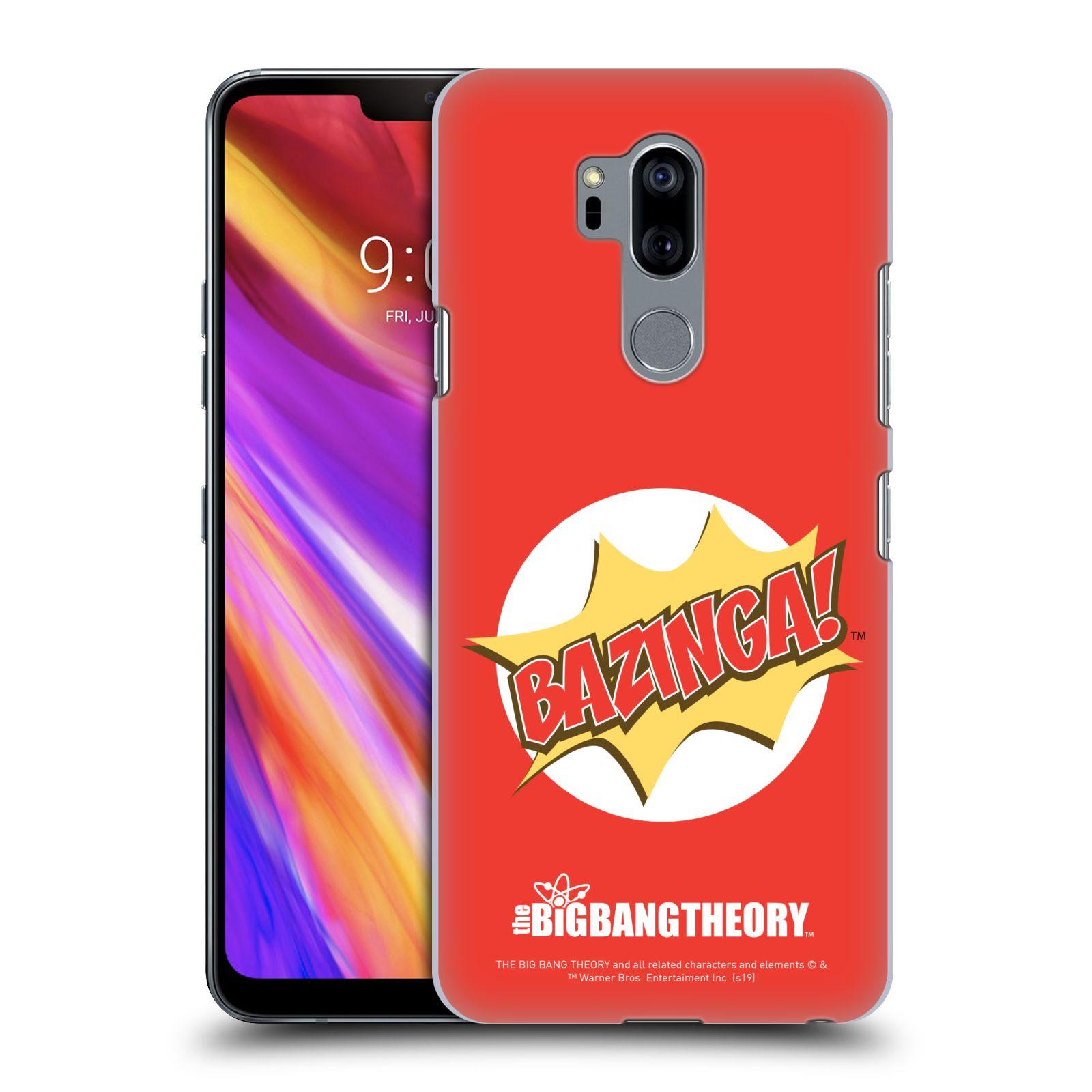 Pouzdro na mobil LG G7  ThinQ - HEAD CASE - Big Bang Theory - Bazinga