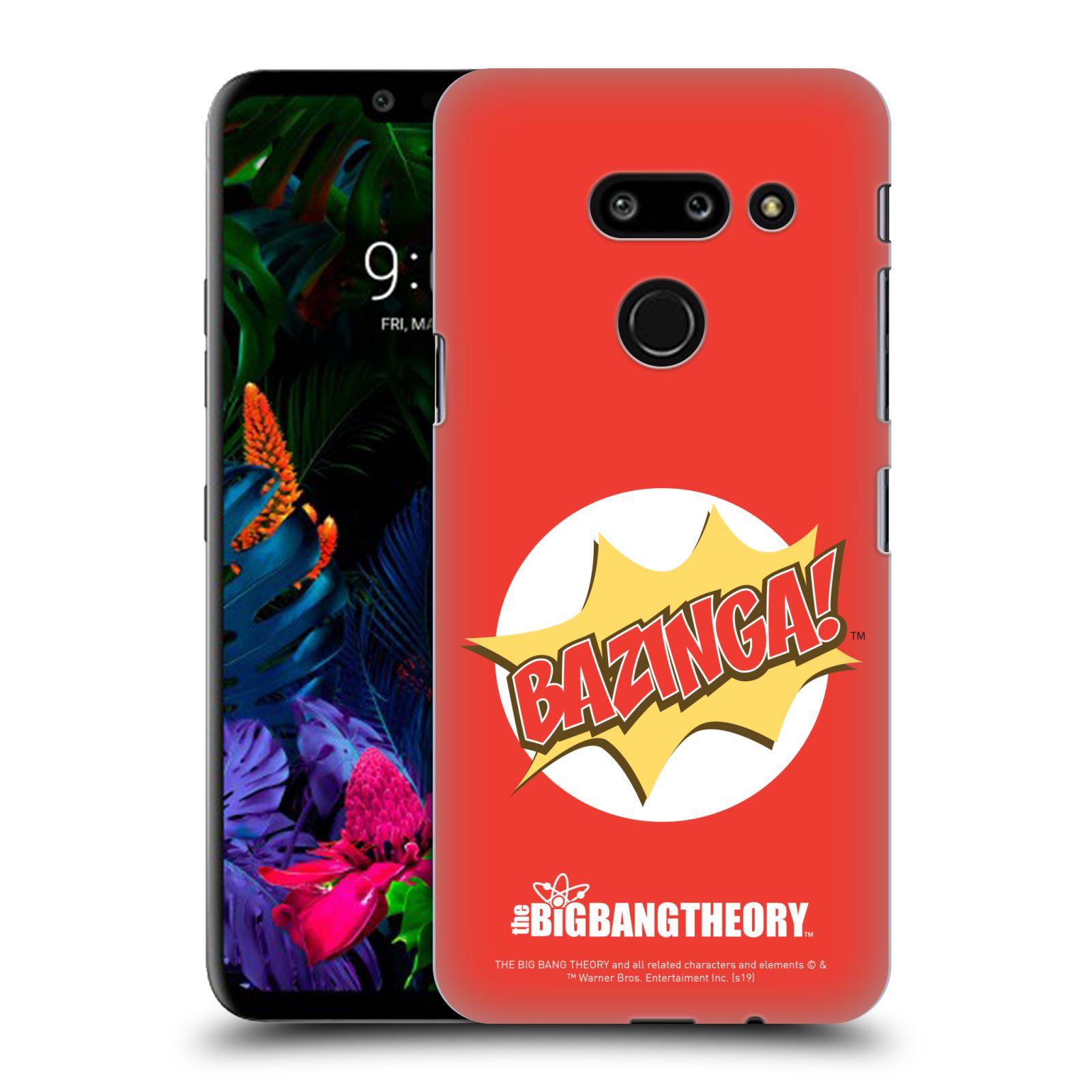 Pouzdro na mobil LG G8 ThinQ - HEAD CASE - Big Bang Theory - Bazinga