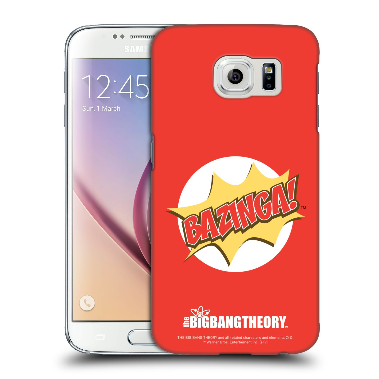 Pouzdro na mobil Samsung Galaxy S6 - HEAD CASE - Big Bang Theory - Bazinga