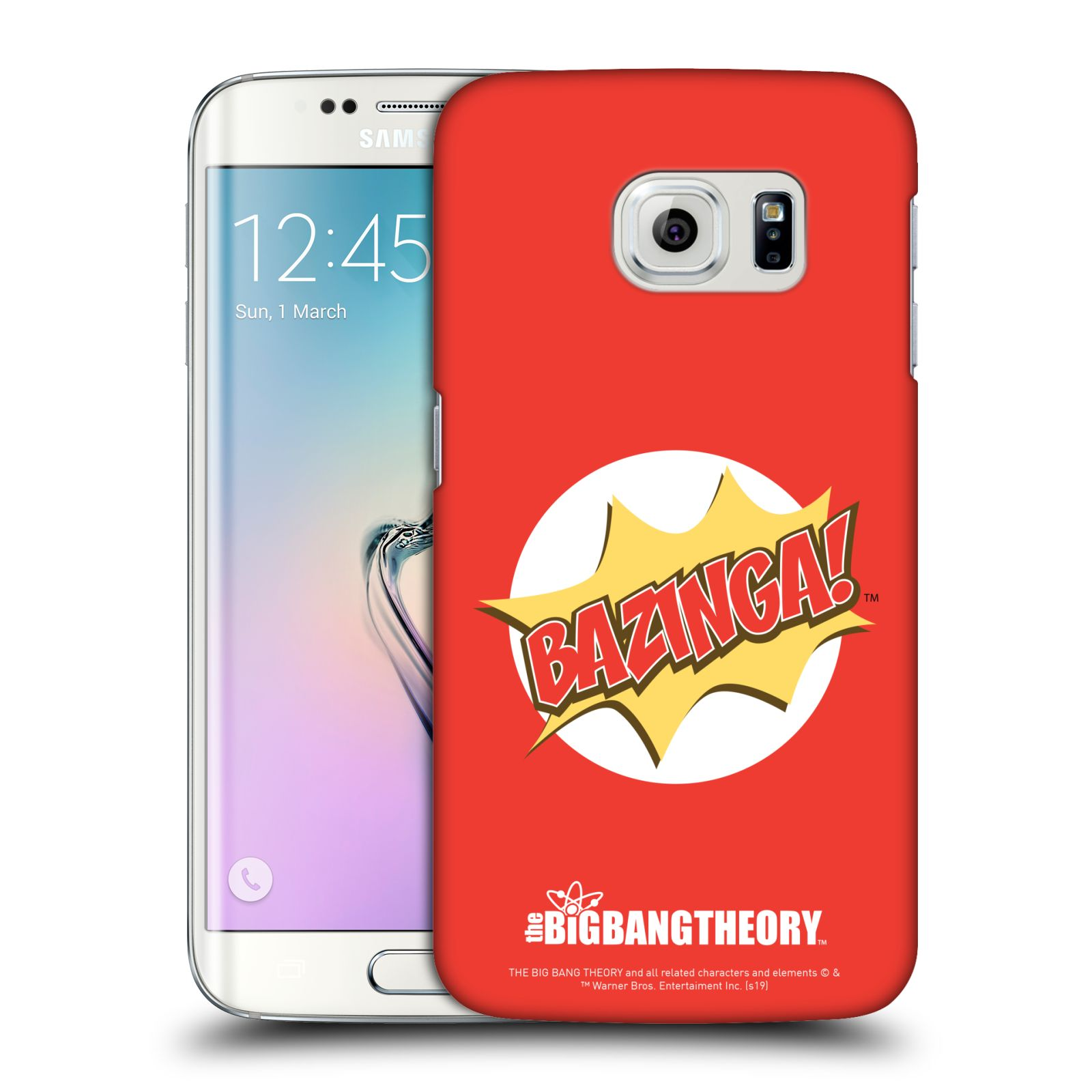 Pouzdro na mobil Samsung Galaxy S6 EDGE - HEAD CASE - Big Bang Theory - Bazinga