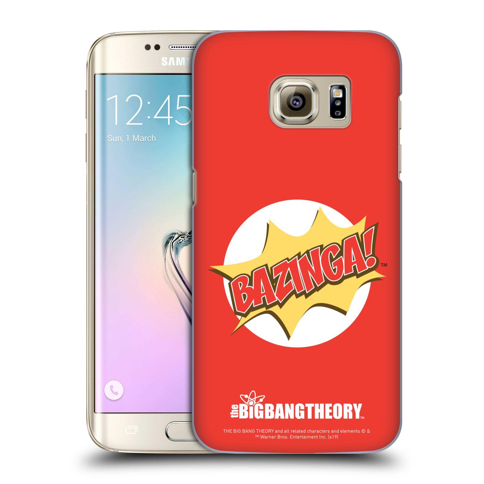 Pouzdro na mobil Samsung Galaxy S7 EDGE - HEAD CASE - Big Bang Theory - Bazinga