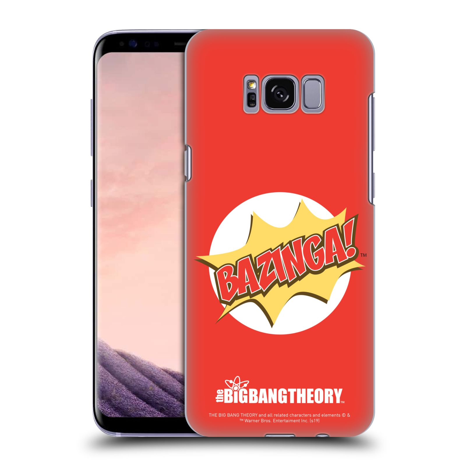 Pouzdro na mobil Samsung Galaxy S8 - HEAD CASE - Big Bang Theory - Bazinga