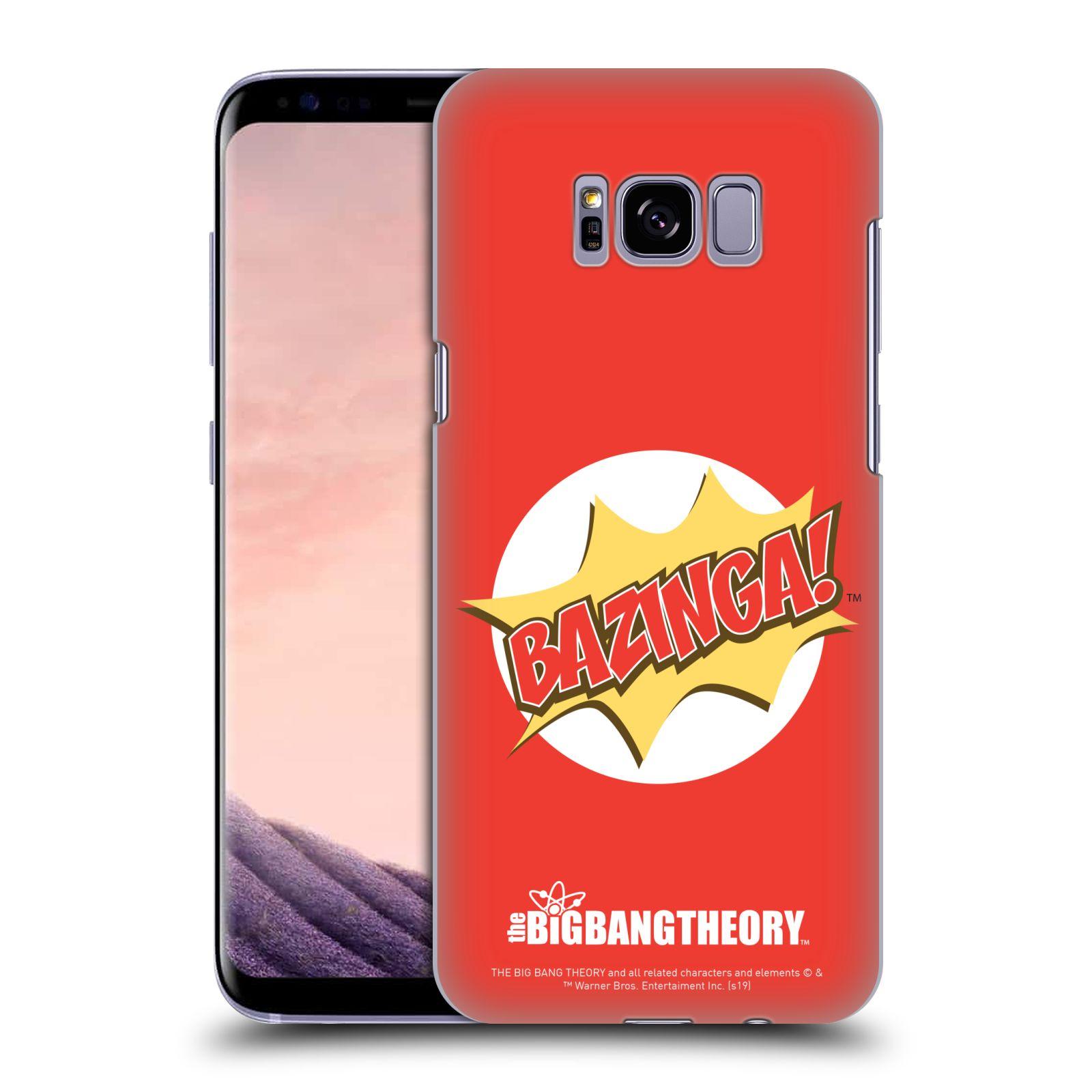 Pouzdro na mobil Samsung Galaxy S8 PLUS - HEAD CASE - Big Bang Theory - Bazinga