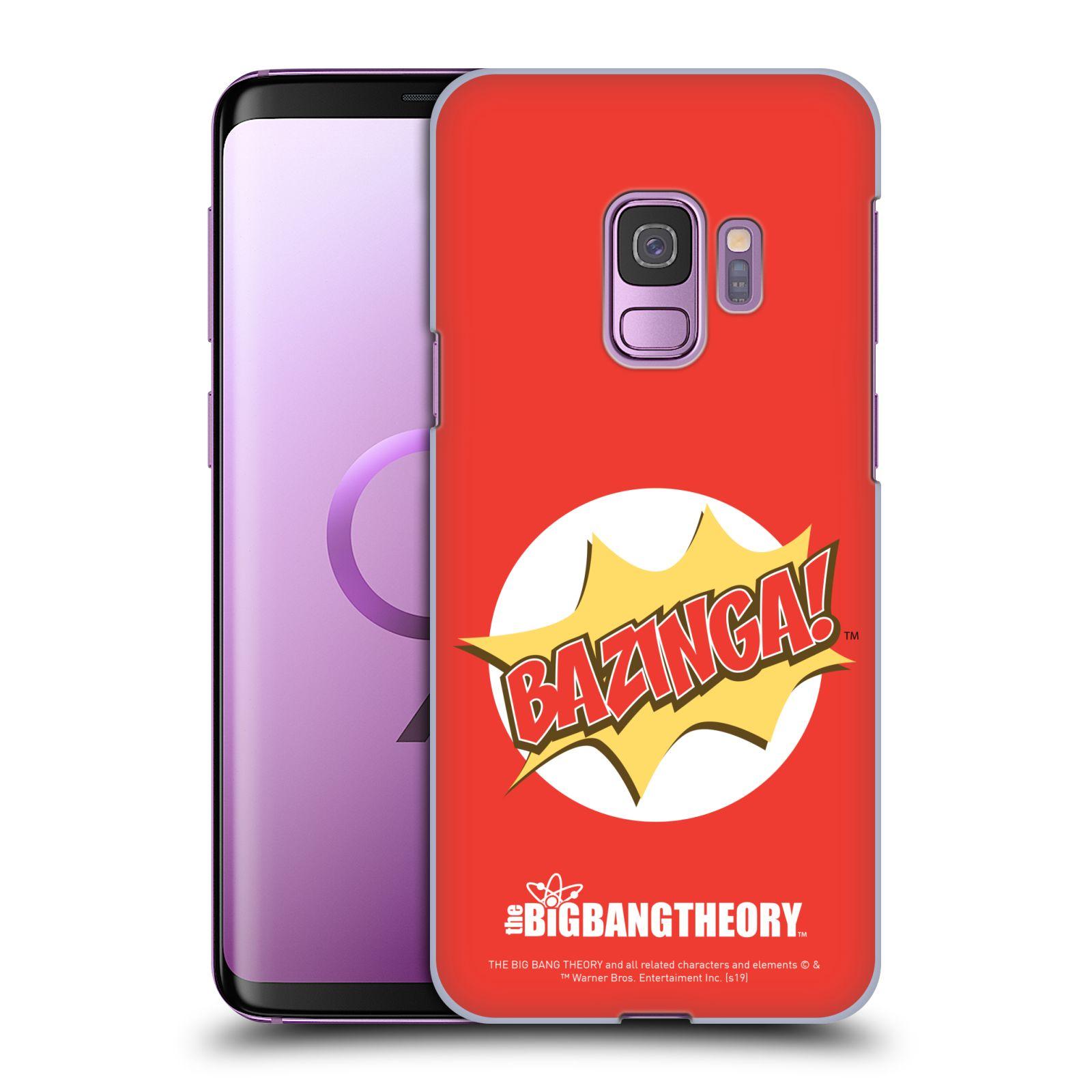 Pouzdro na mobil Samsung Galaxy S9 - HEAD CASE - Big Bang Theory - Bazinga