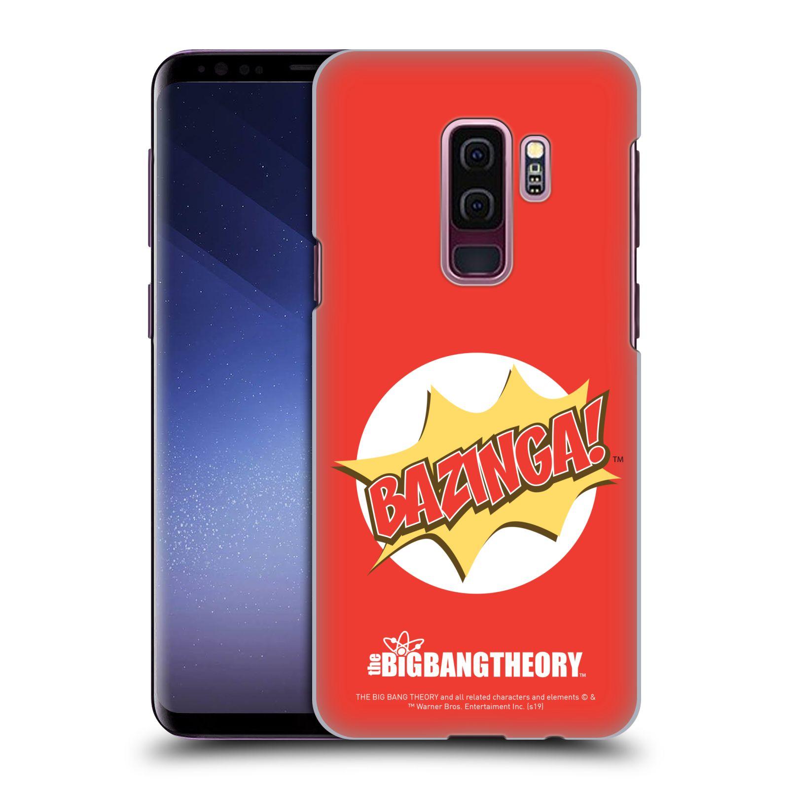 Pouzdro na mobil Samsung Galaxy S9+ / S9 PLUS - HEAD CASE - Big Bang Theory - Bazinga