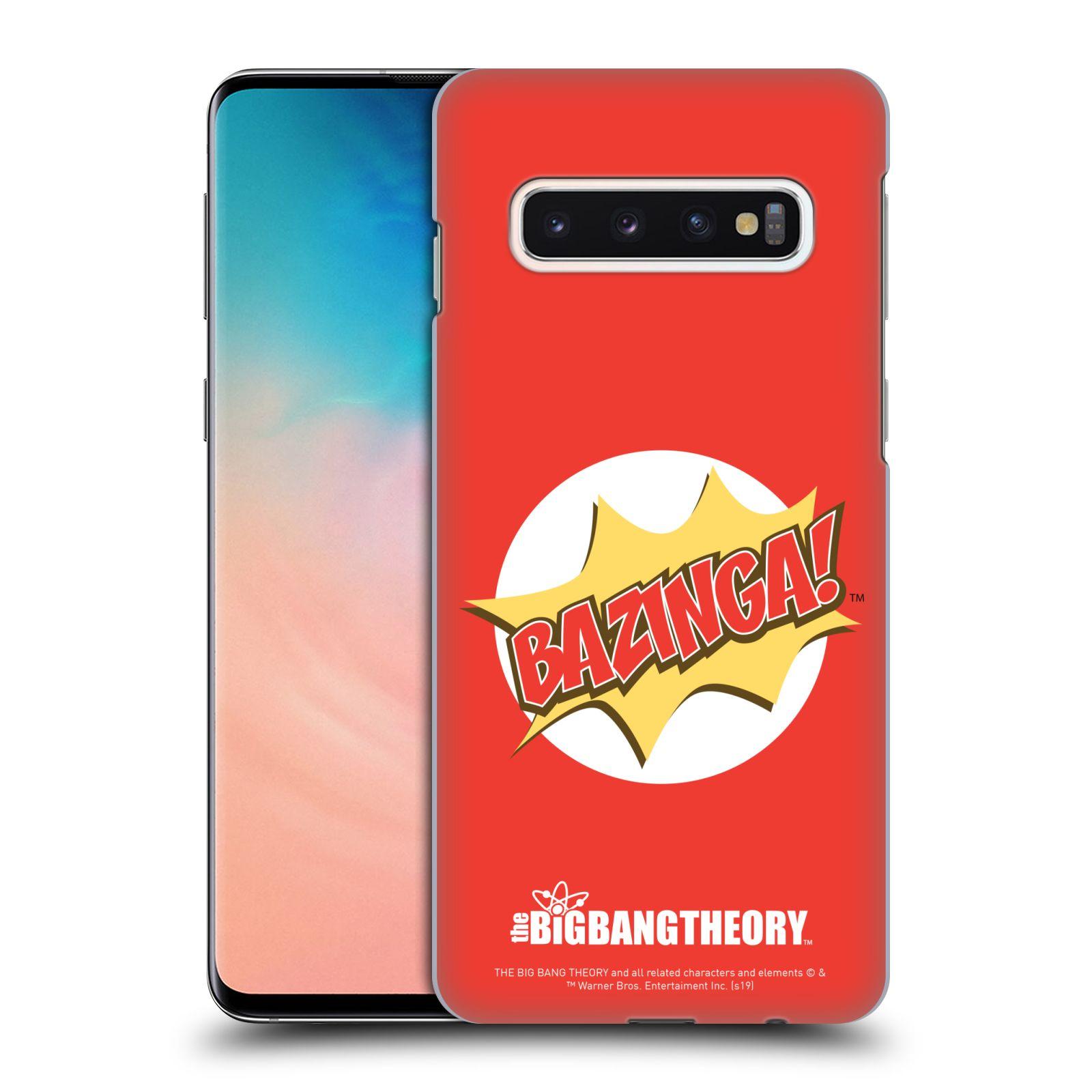 Pouzdro na mobil Samsung Galaxy S10 - HEAD CASE - Big Bang Theory - Bazinga
