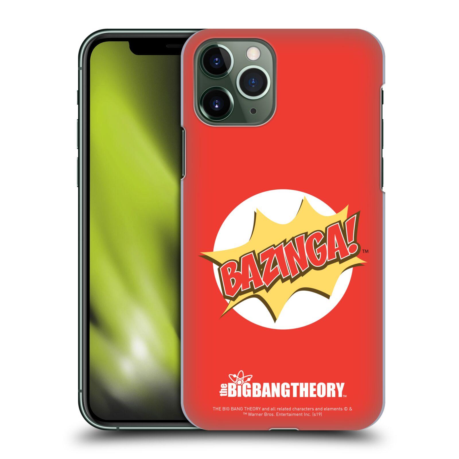 Pouzdro na mobil Apple Iphone 11 PRO - HEAD CASE - Big Bang Theory - Bazinga