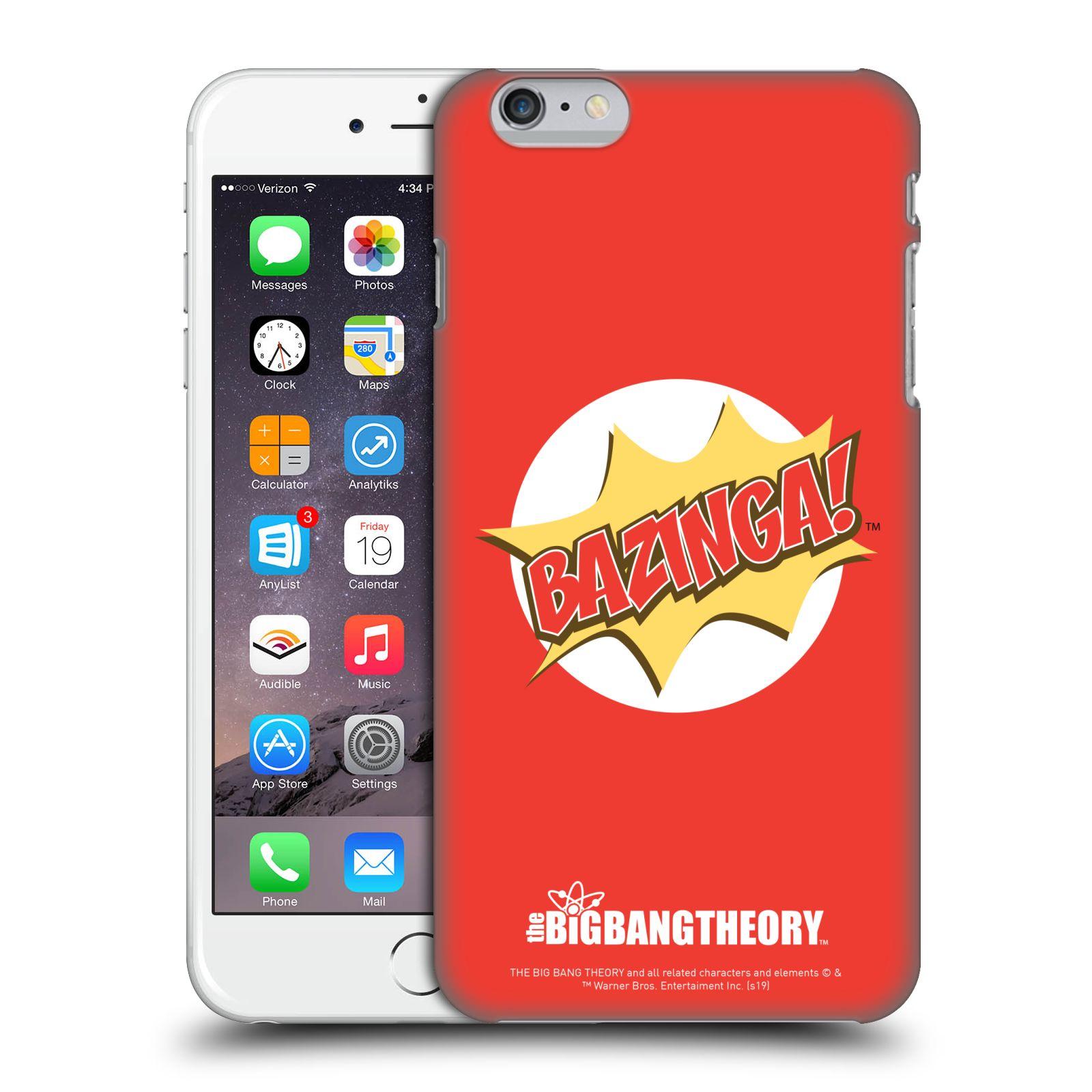 Pouzdro na mobil Apple Iphone 6/6S PLUS - HEAD CASE - Big Bang Theory - Bazinga