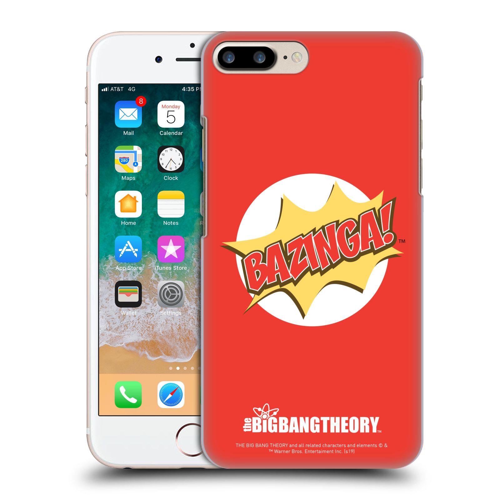 Pouzdro na mobil Apple Iphone 7/8 PLUS - HEAD CASE - Big Bang Theory - Bazinga