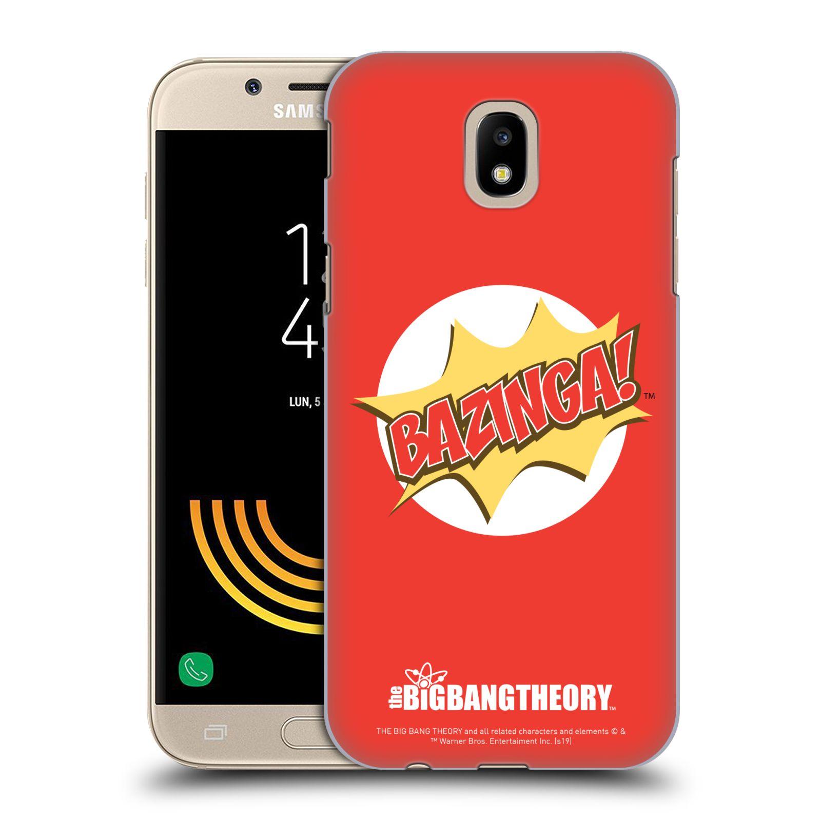 Pouzdro na mobil Samsung Galaxy J5 2017 - HEAD CASE - Big Bang Theory - Bazinga