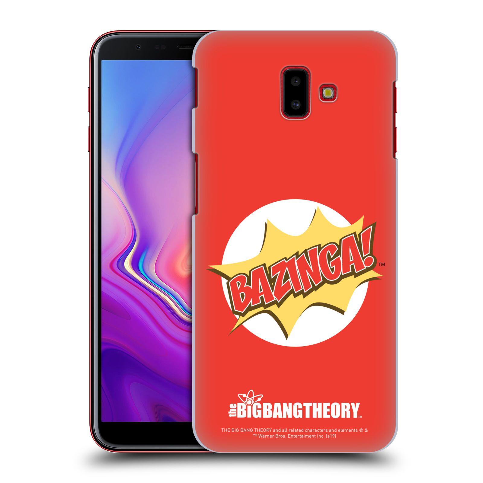 Pouzdro na mobil Samsung Galaxy J6+ - HEAD CASE - Big Bang Theory - Bazinga
