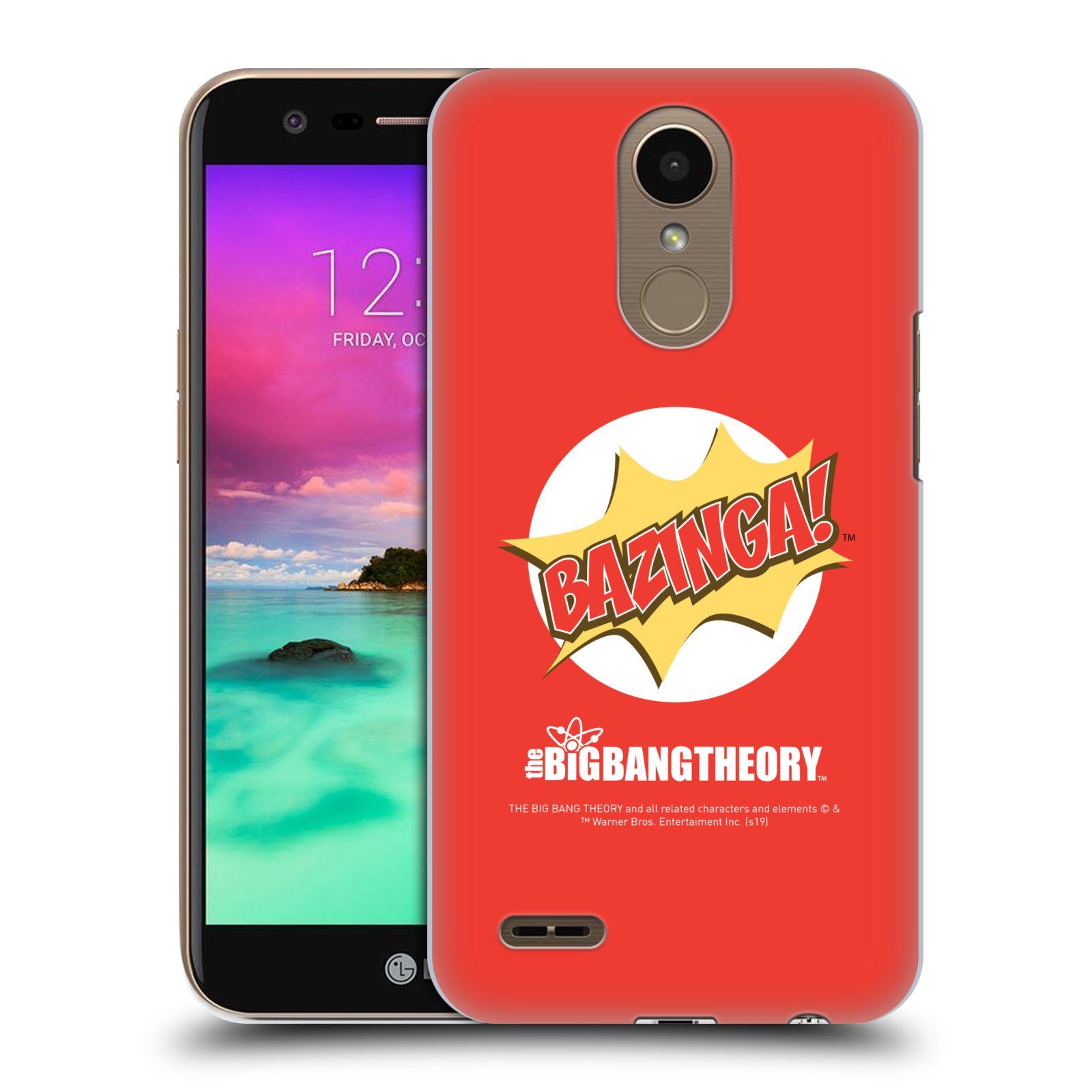 Pouzdro na mobil LG K10 2017 / K10 2017 DUAL SIM - HEAD CASE - Big Bang Theory - Bazinga