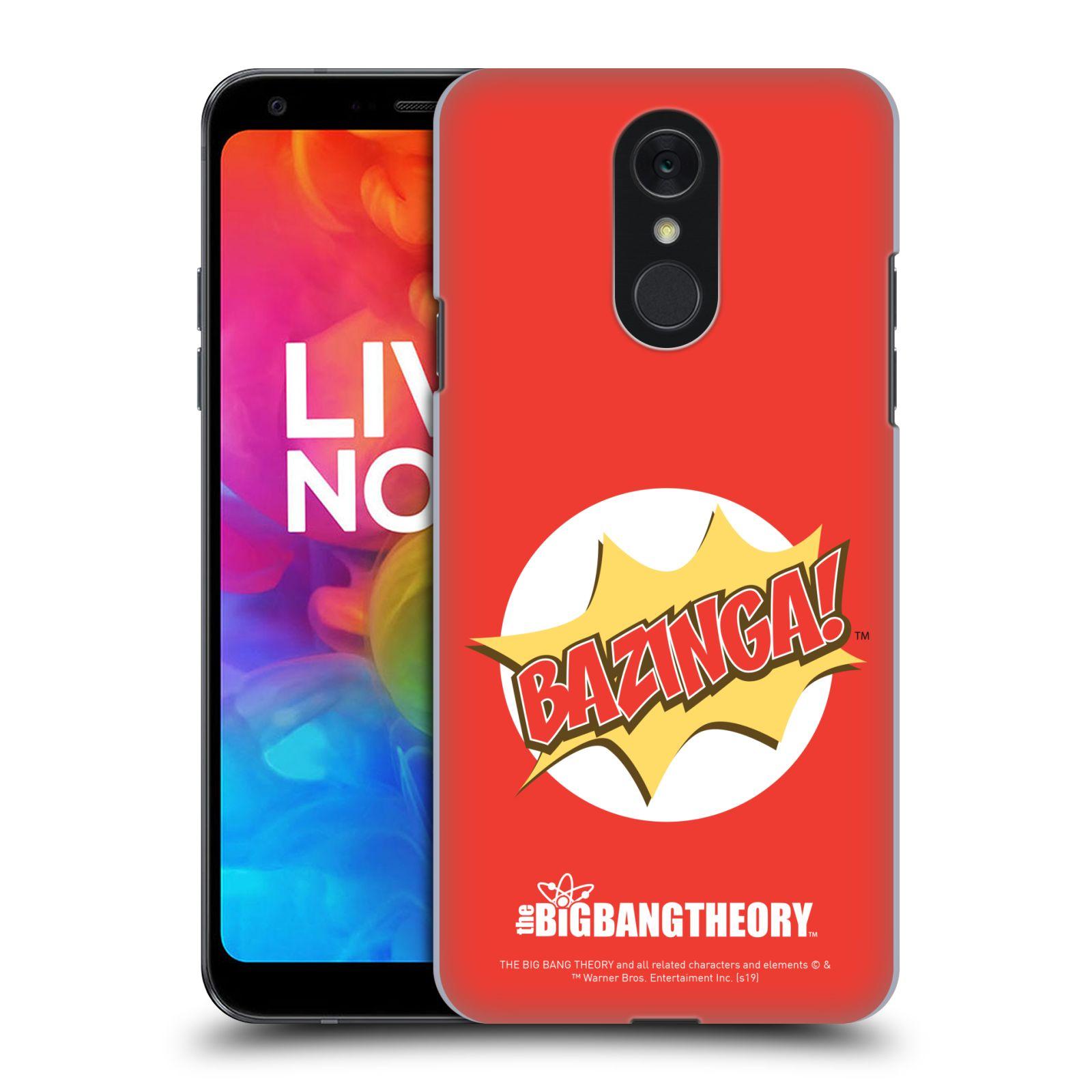 Pouzdro na mobil LG Q7 - HEAD CASE - Big Bang Theory - Bazinga