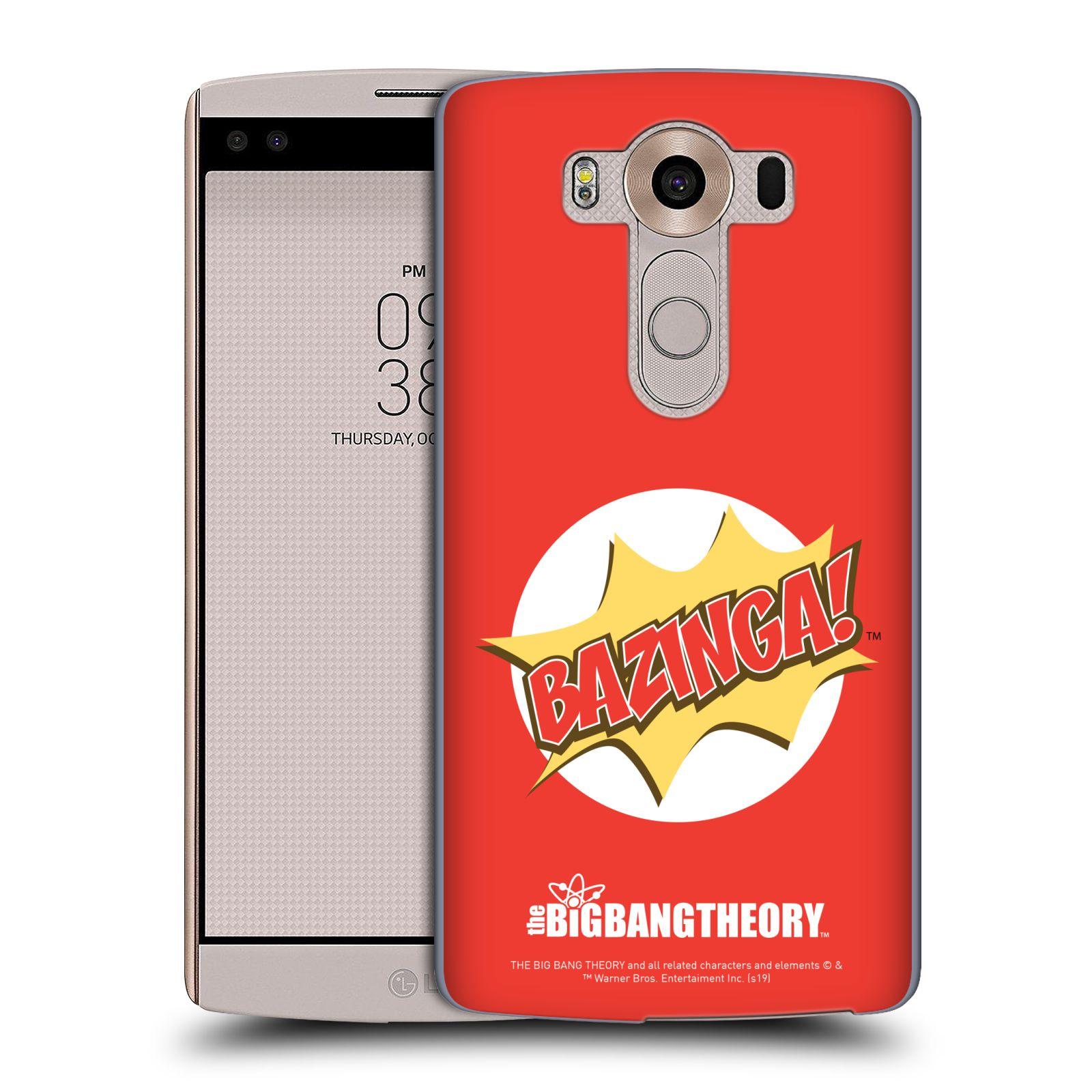Pouzdro na mobil LG V10 - HEAD CASE - Big Bang Theory - Bazinga
